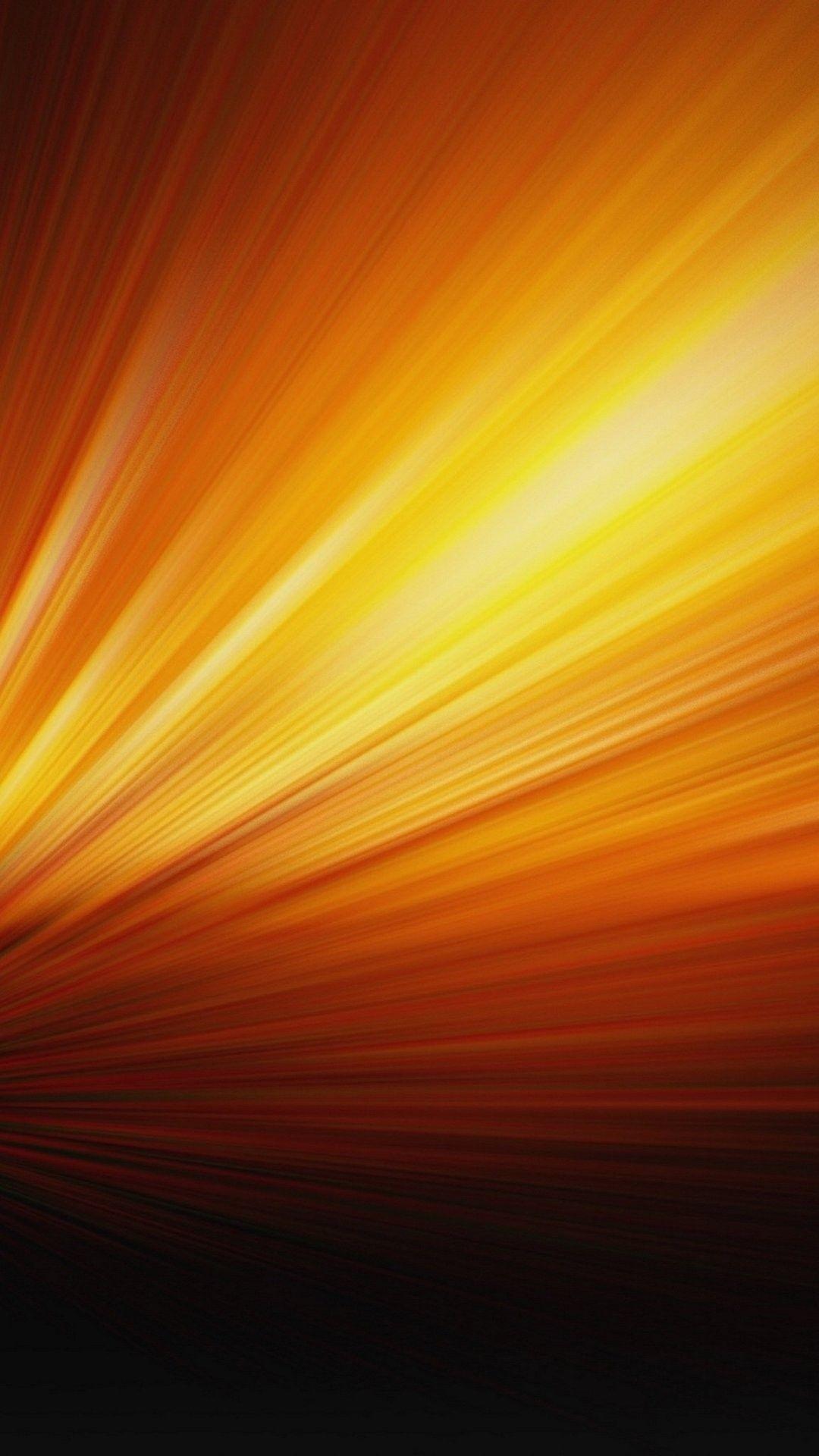 Orange lock screen wallpaper