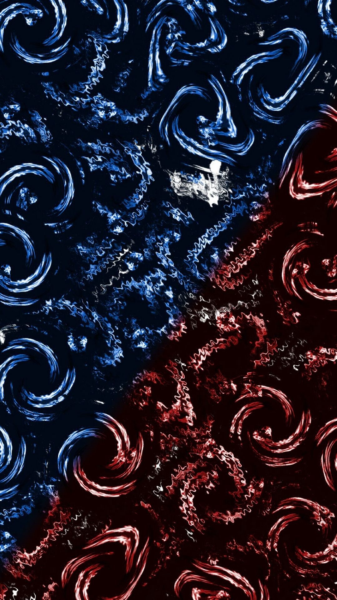 Red And Blue iphone 5 wallpaper
