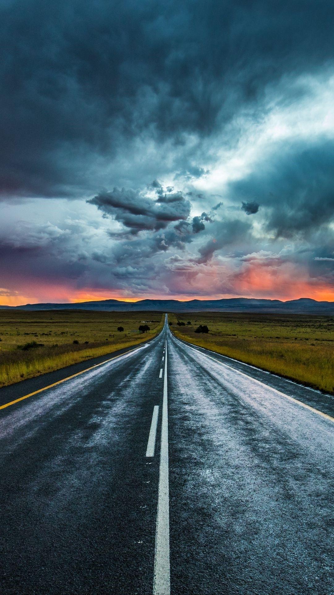 Road ios wallpaper
