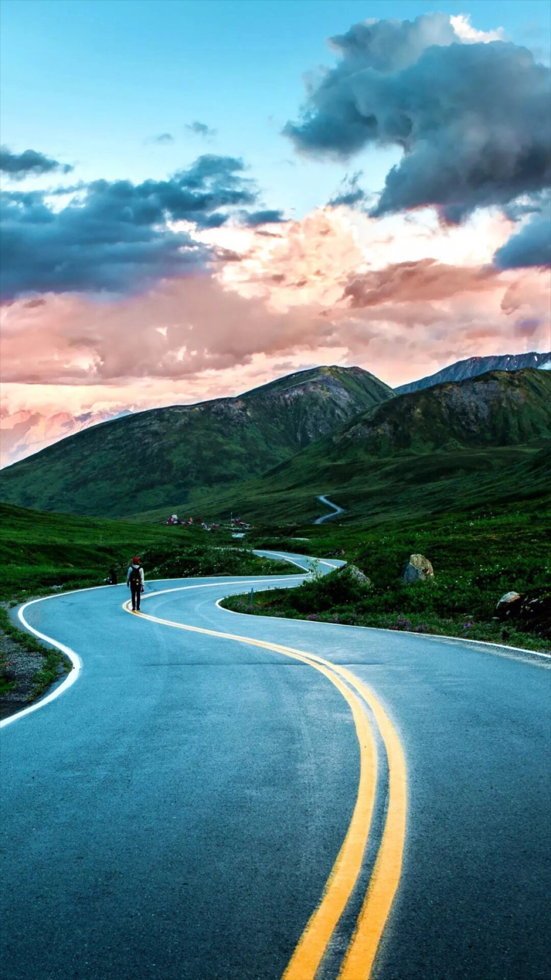 Road wallpaper for android