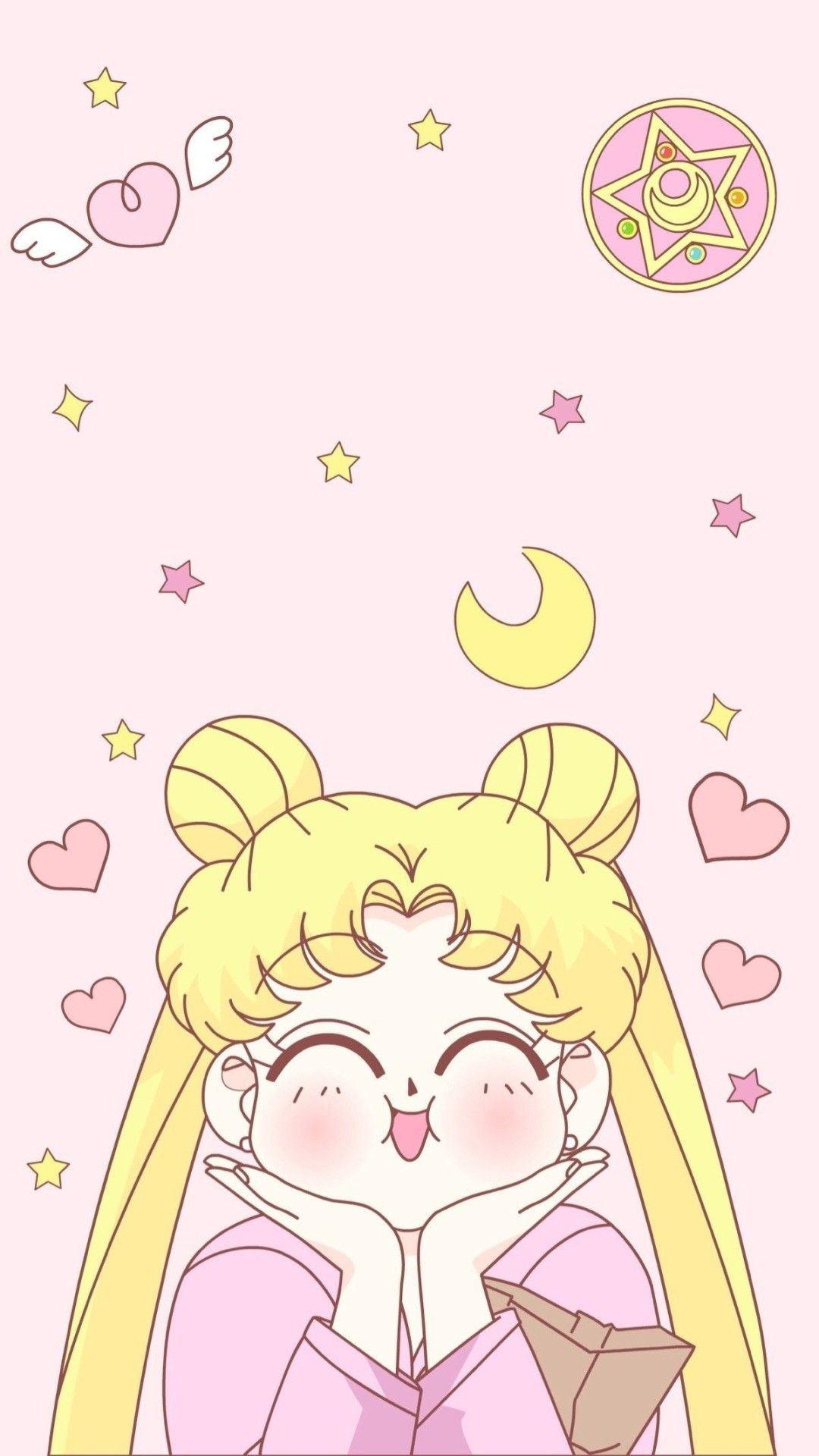 Sailor Moon iphone home screen wallpaper