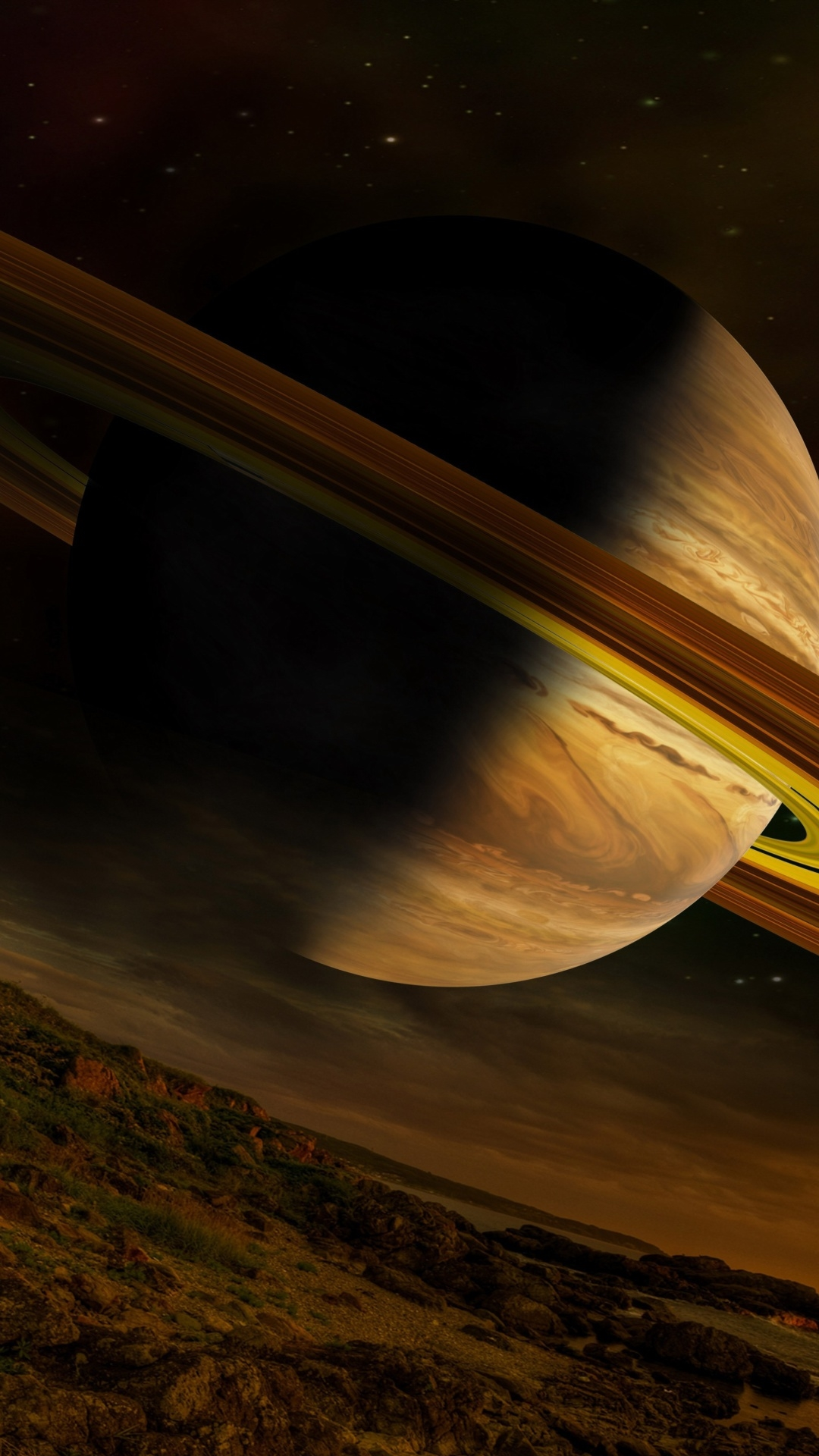 Saturn free wallpaper for android
