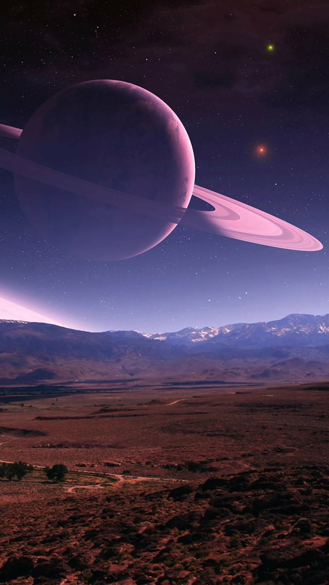 Saturn wallpaper for iphone