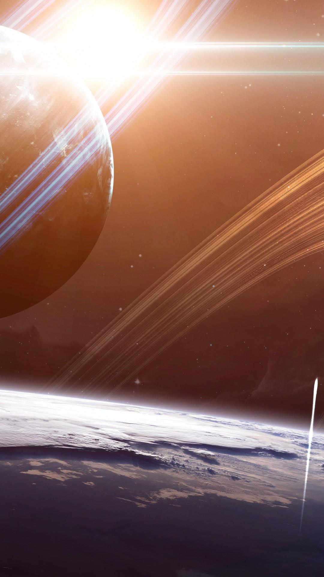 Saturn screensaver wallpaper