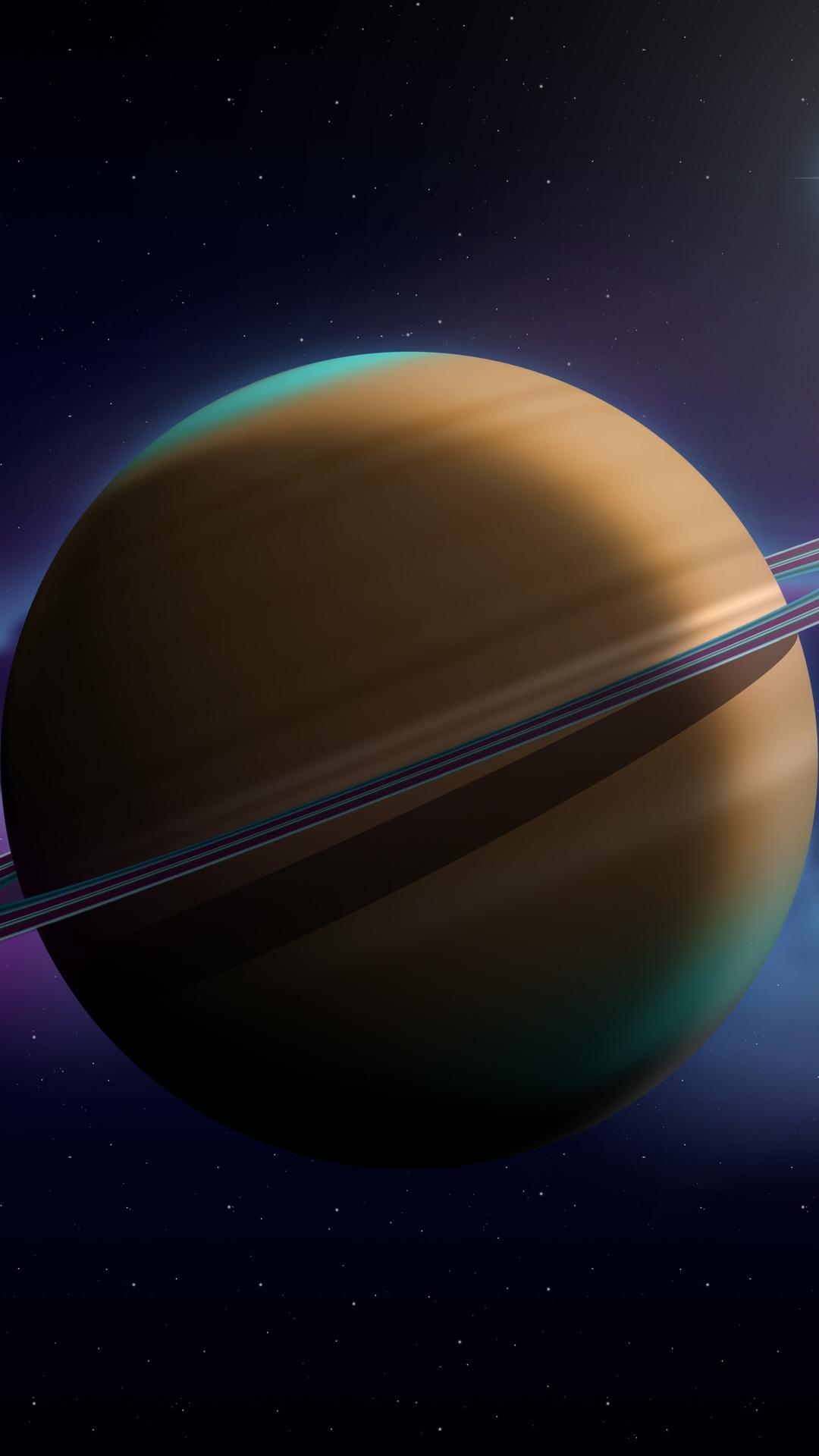 Saturn iphone