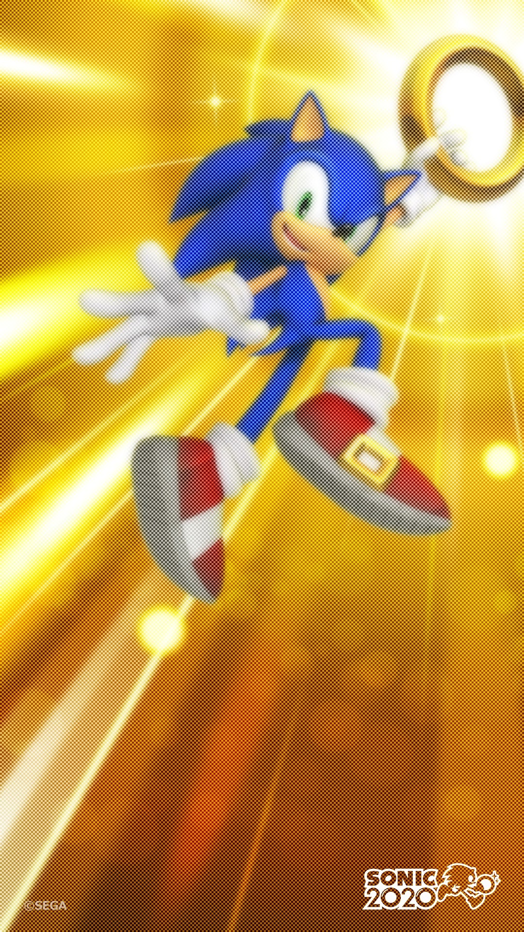 Sonic The Hedgehog iphone 5 wallpaper