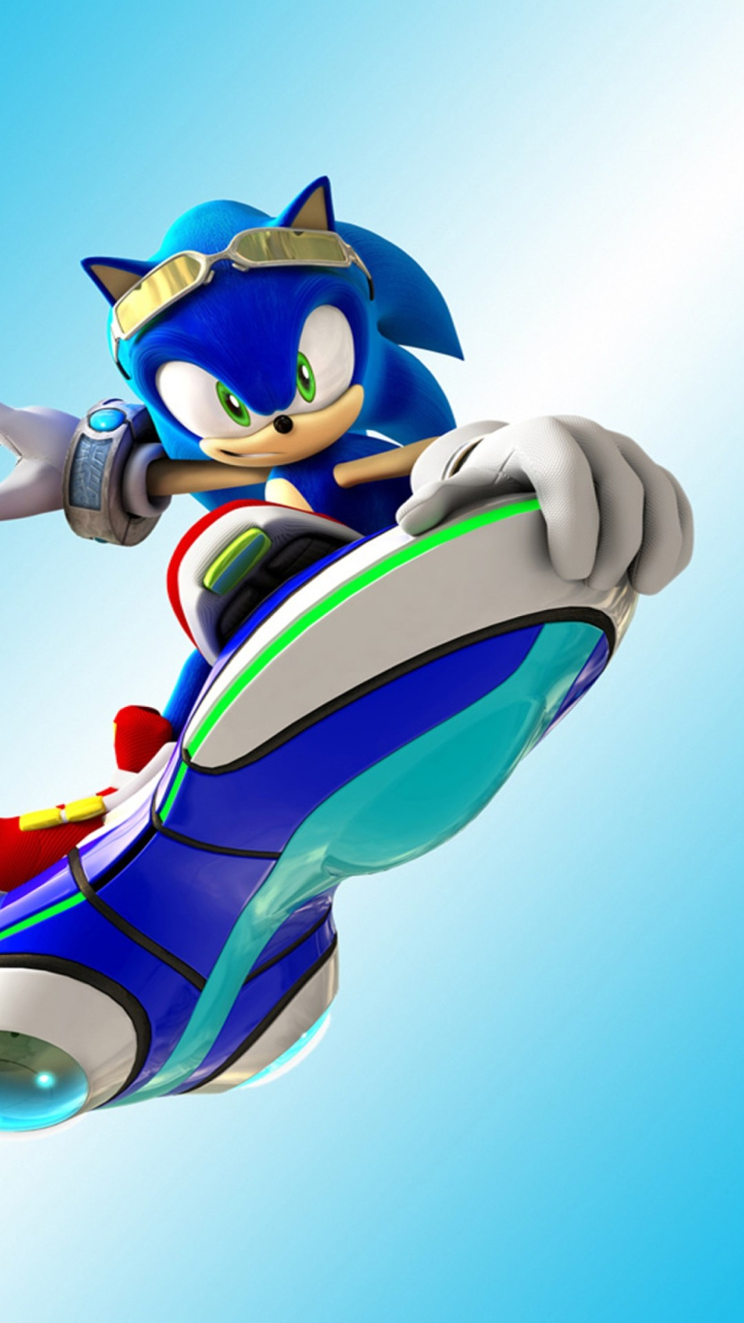 Sonic The Hedgehog screensaver wallpaper