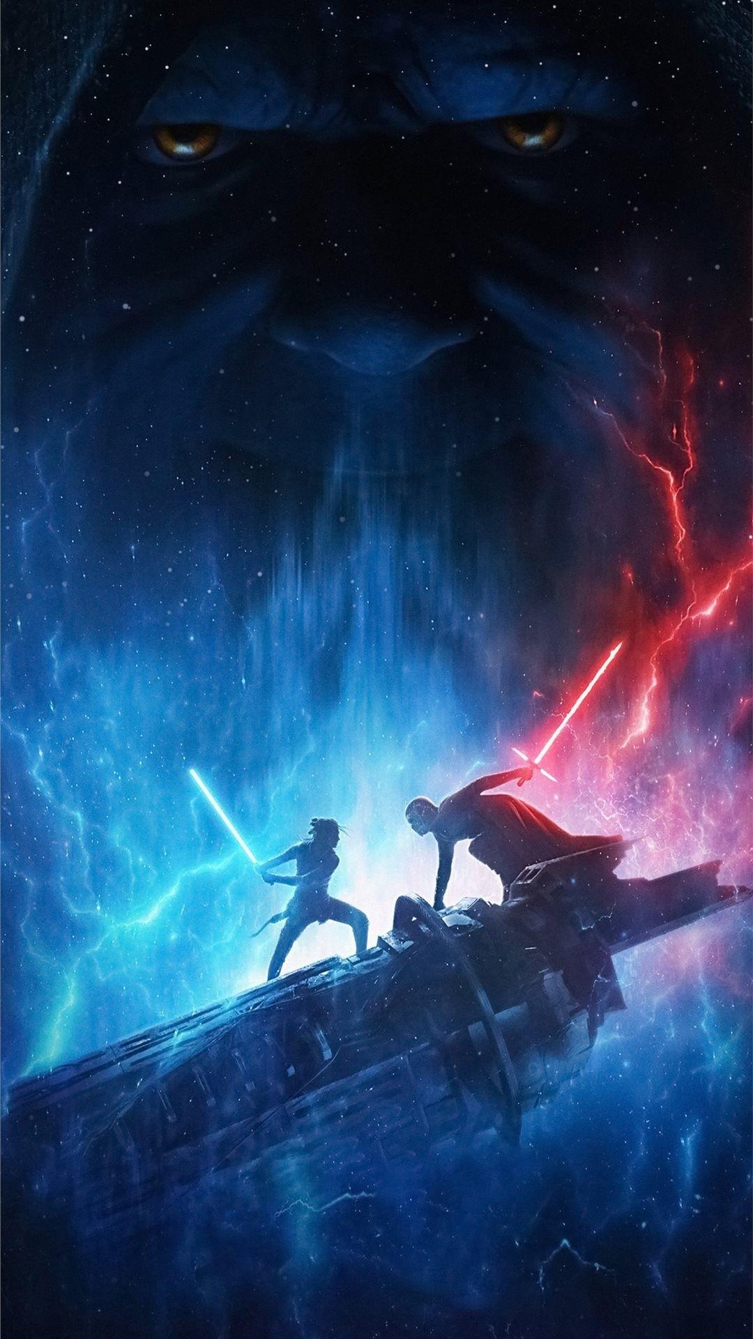 Star Wars The Rise Of Skywalker iphone 8 wallpaper