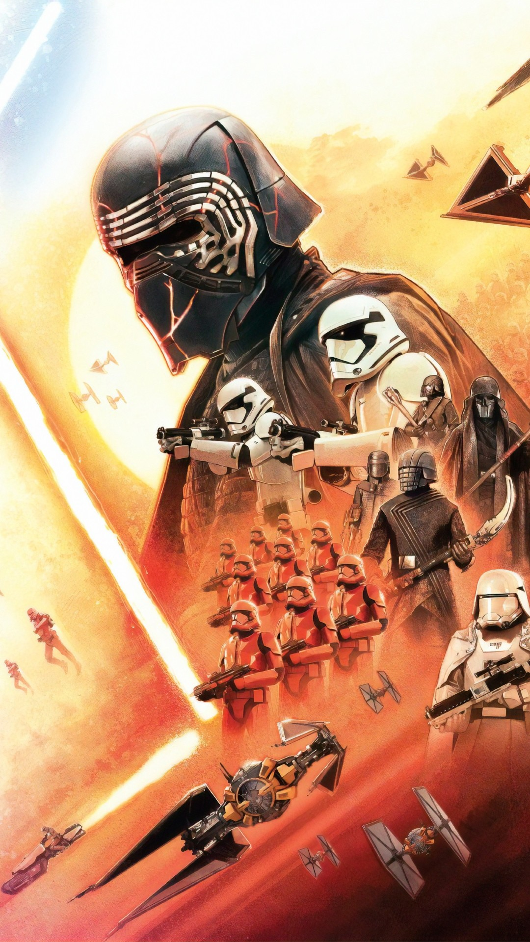 Star Wars The Rise Of Skywalker iphone 5 wallpaper