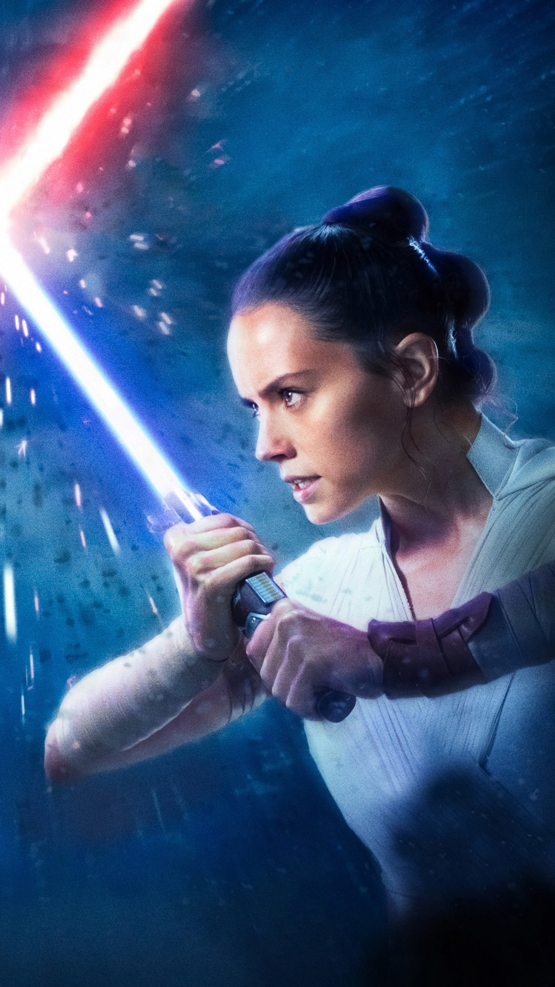 Star Wars The Rise Of Skywalker lock screen wallpaper