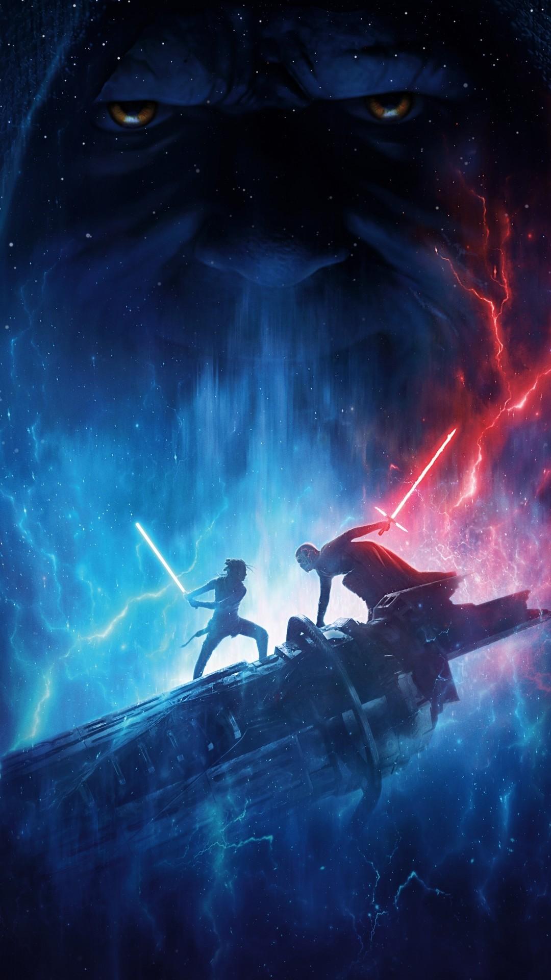 Star Wars The Rise Of Skywalker iphone 8 plus wallpaper