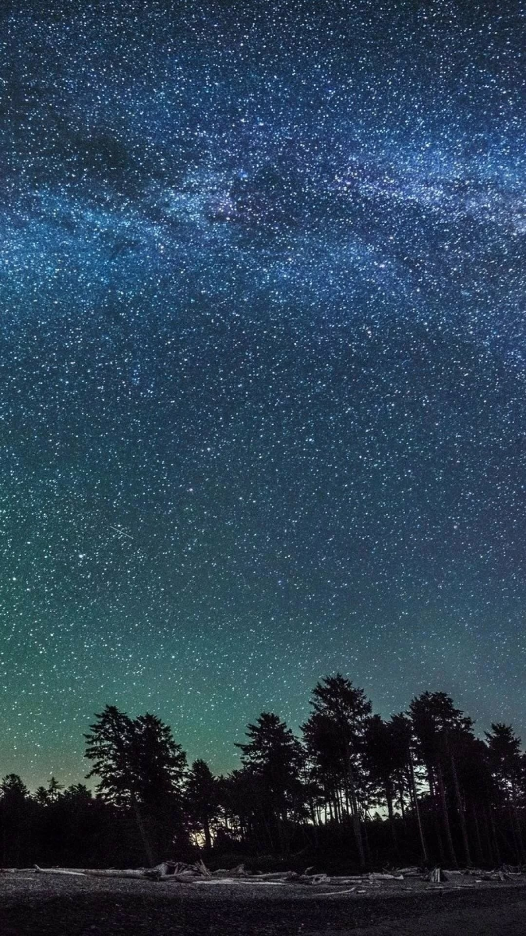 Starry Sky wallpaper iphone