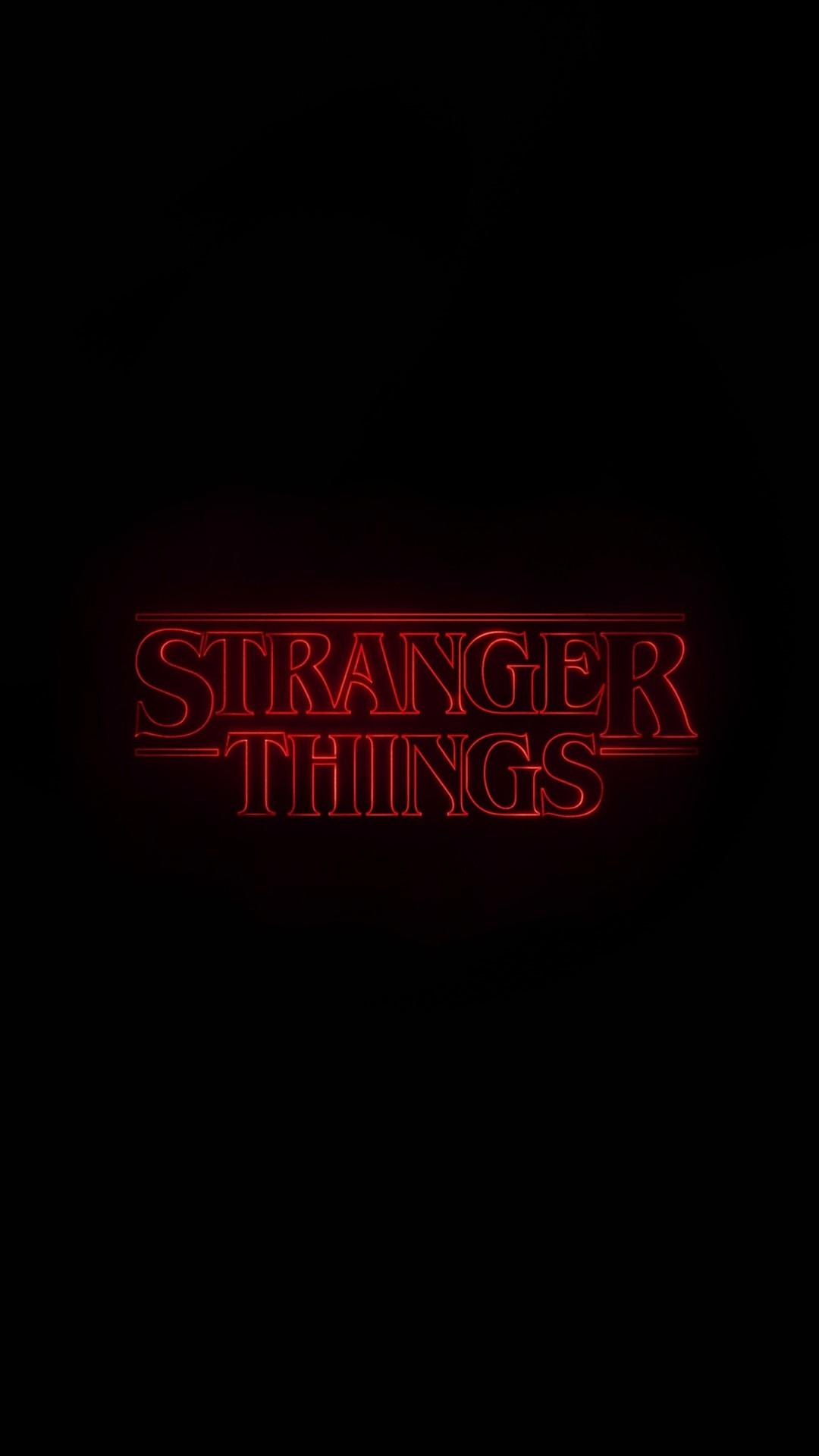 Stranger Things lock screen wallpaper