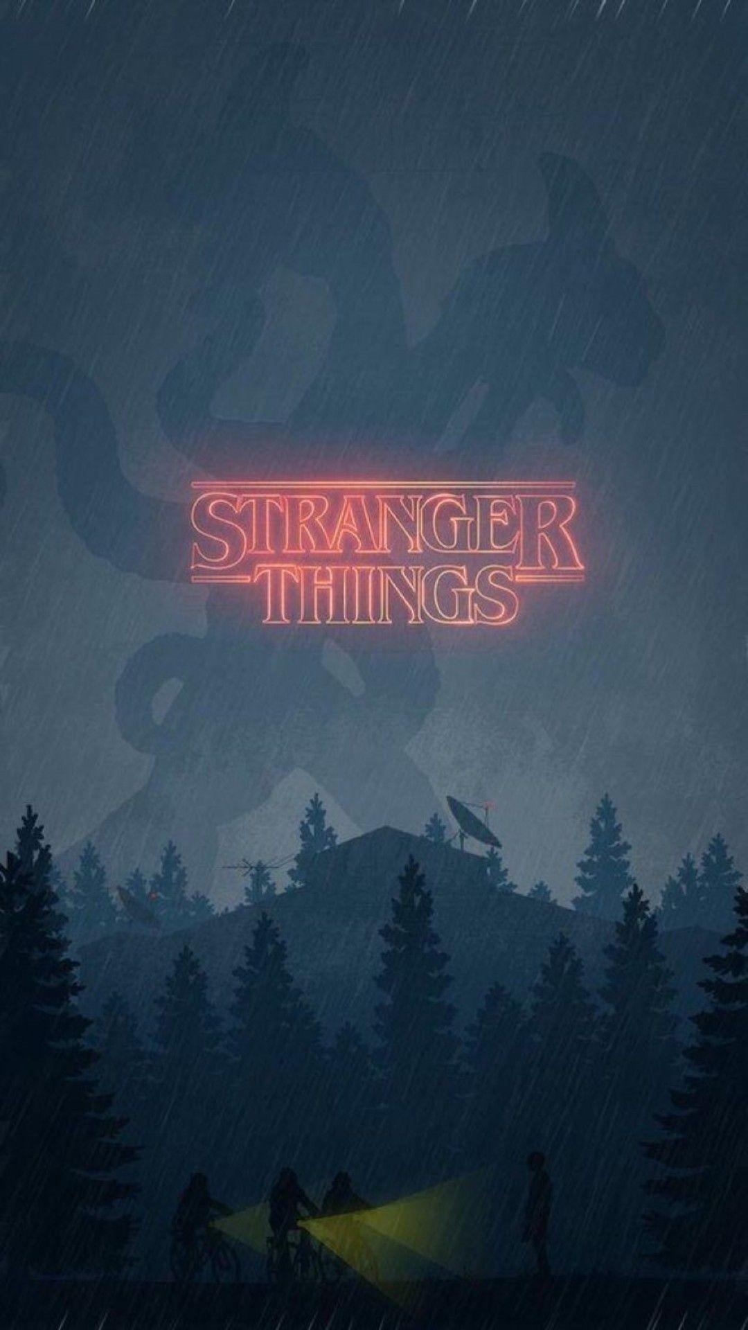 Stranger Things iphone 8 plus wallpaper