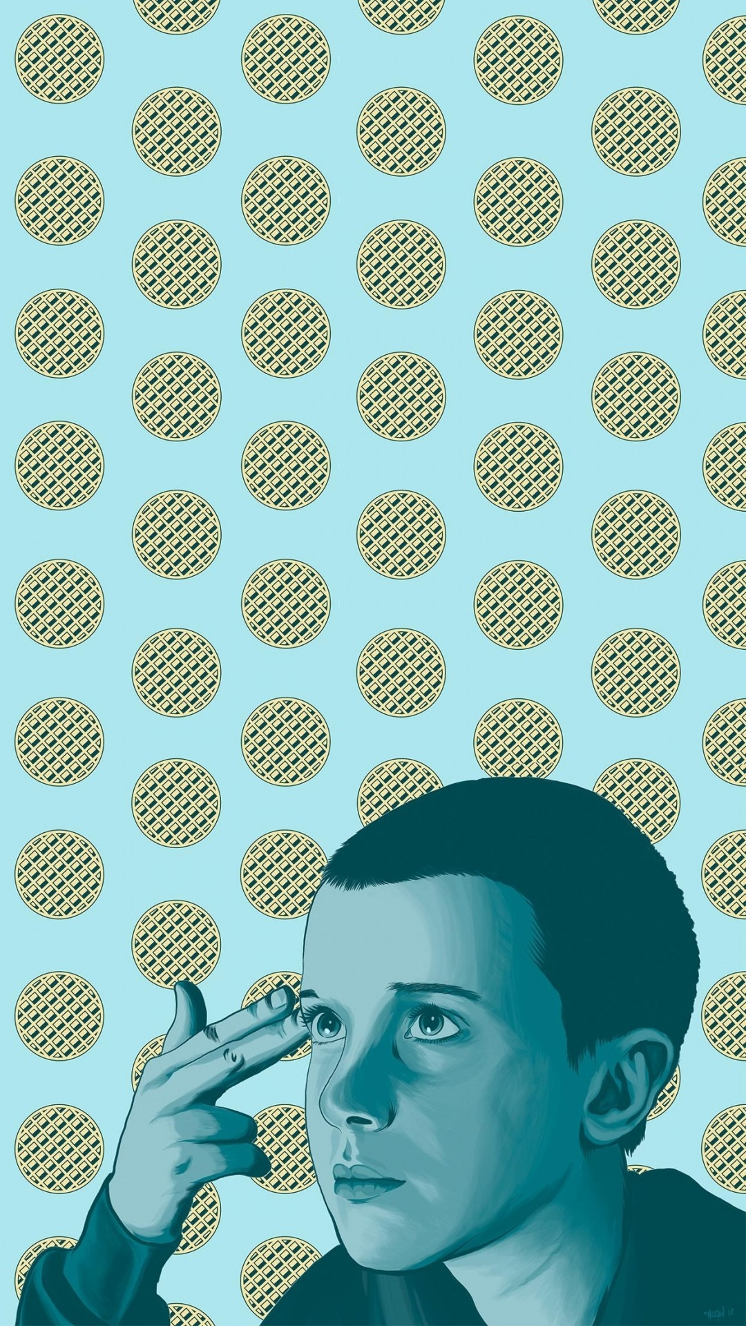 Stranger Things iphone 7 wallpaper