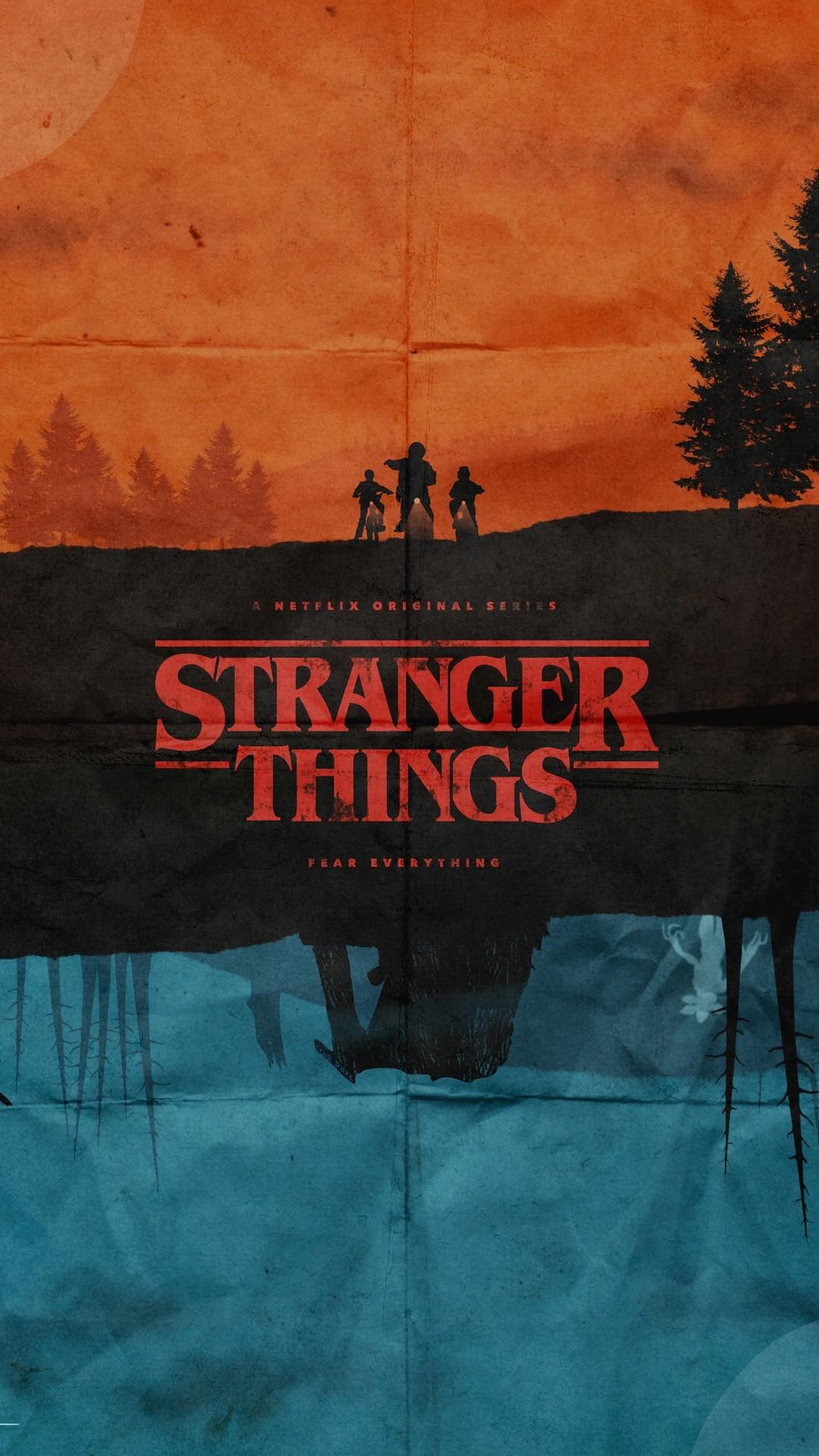 Stranger Things iphone 8 wallpaper