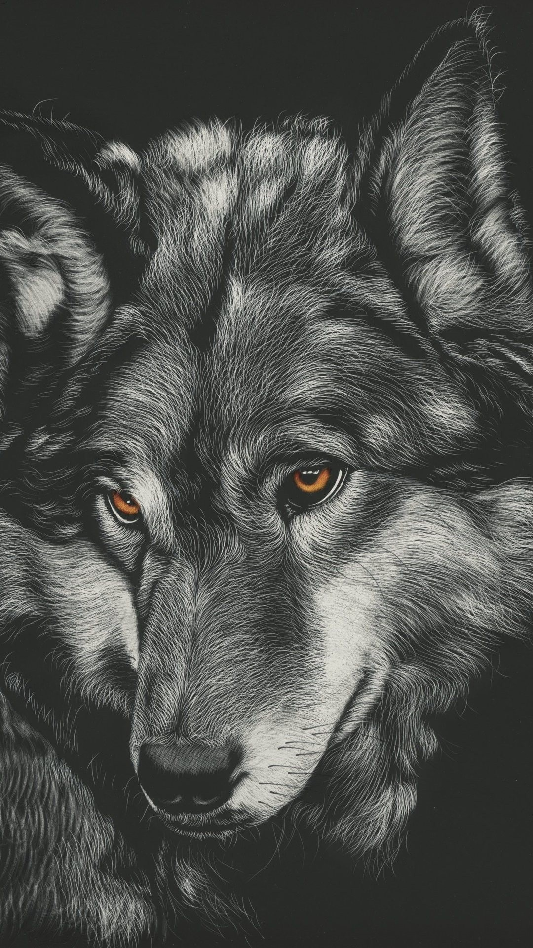 Wolf wallpaper for iphone