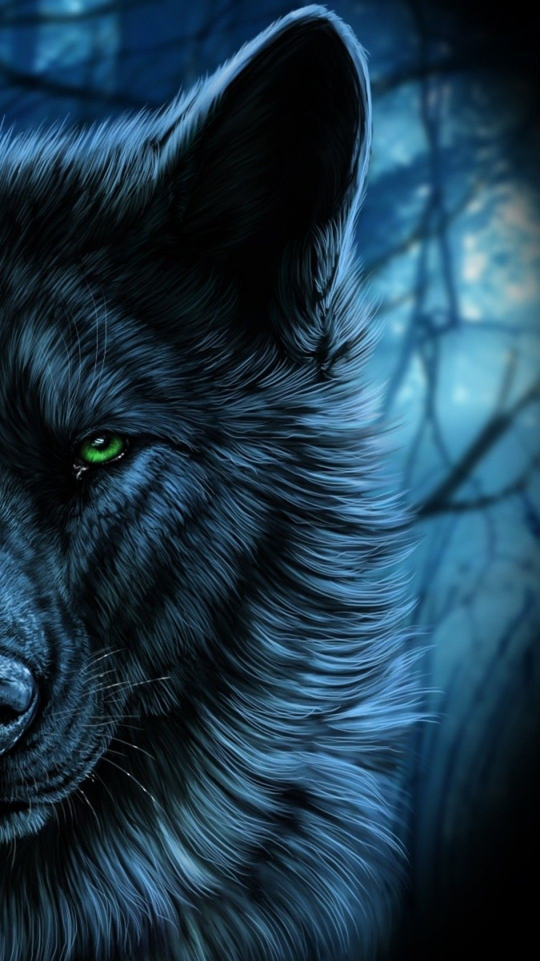 Wolf wallpaper for android