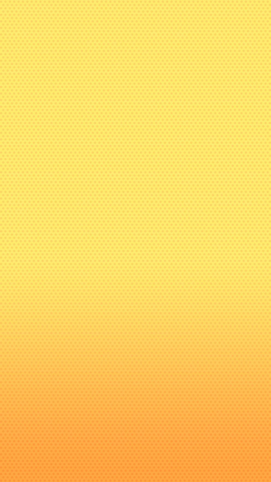 Yellow iphone home screen wallpaper