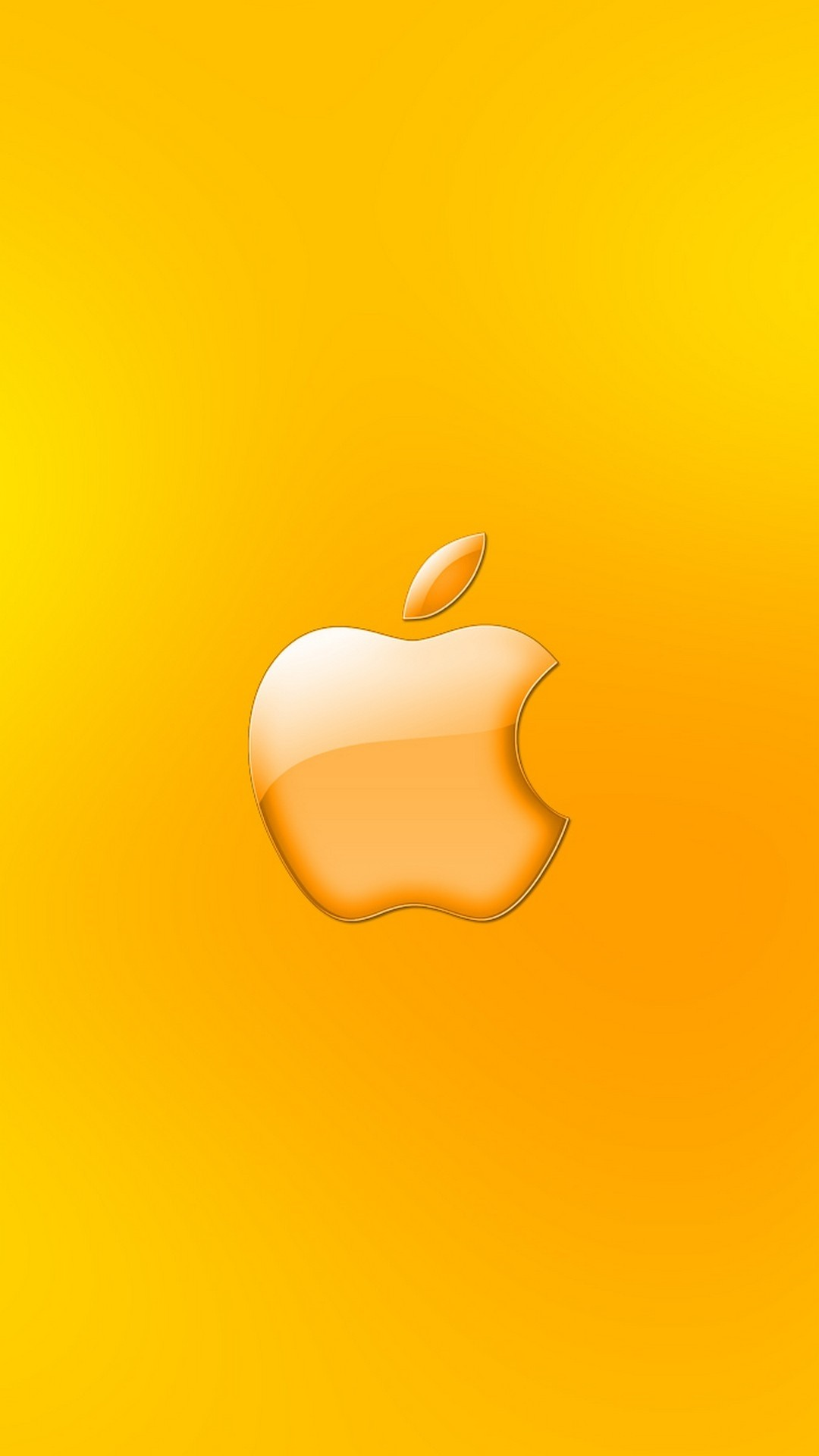 Yellow ios wallpaper