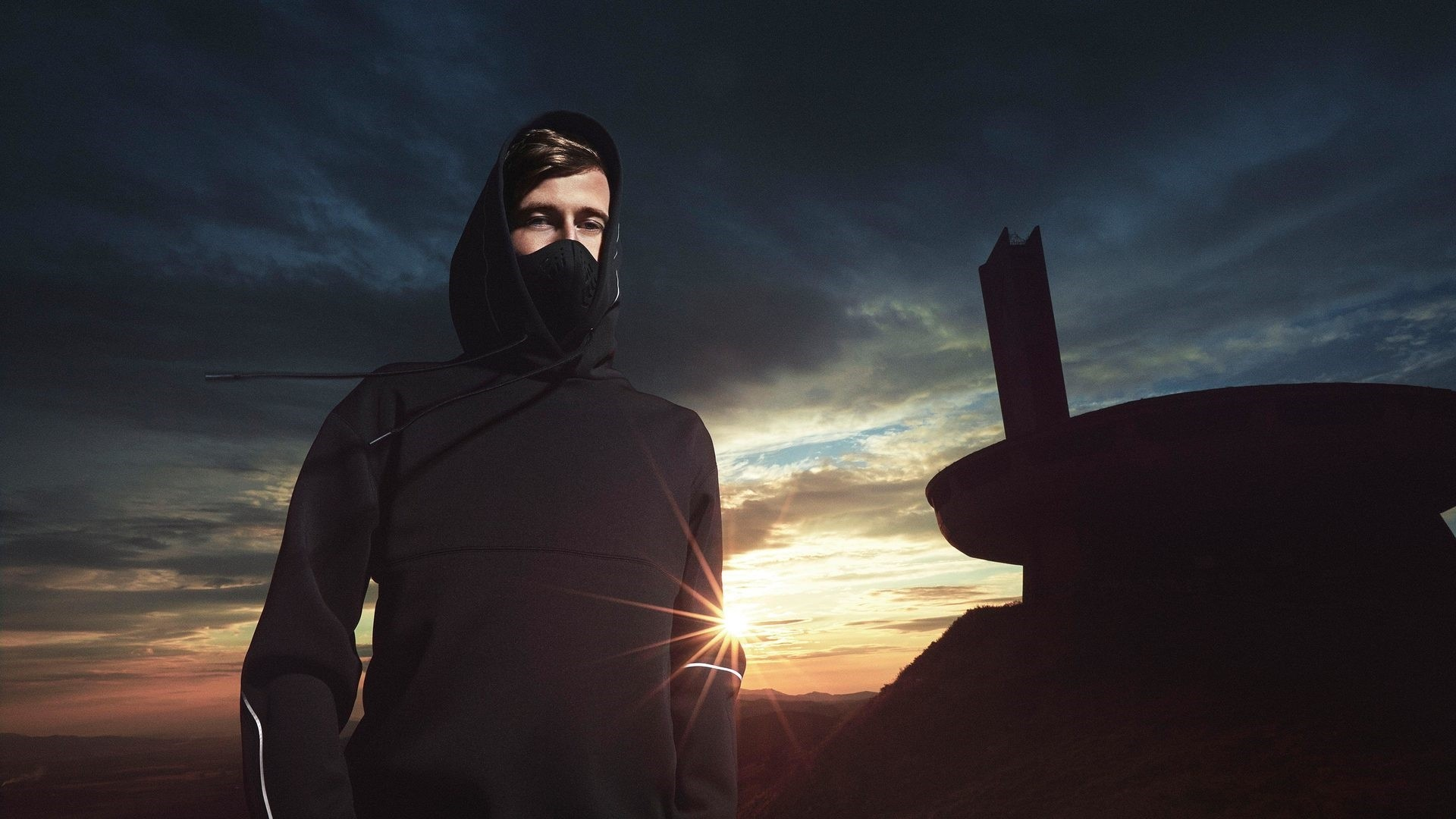Alan Walker Background Wallpaper
