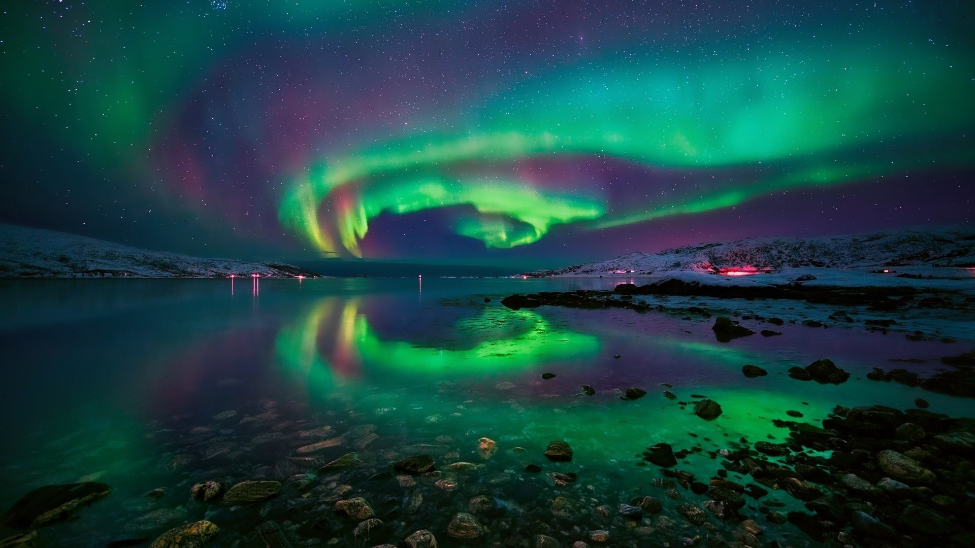 Aurora Borealis Free Wallpaper and Background