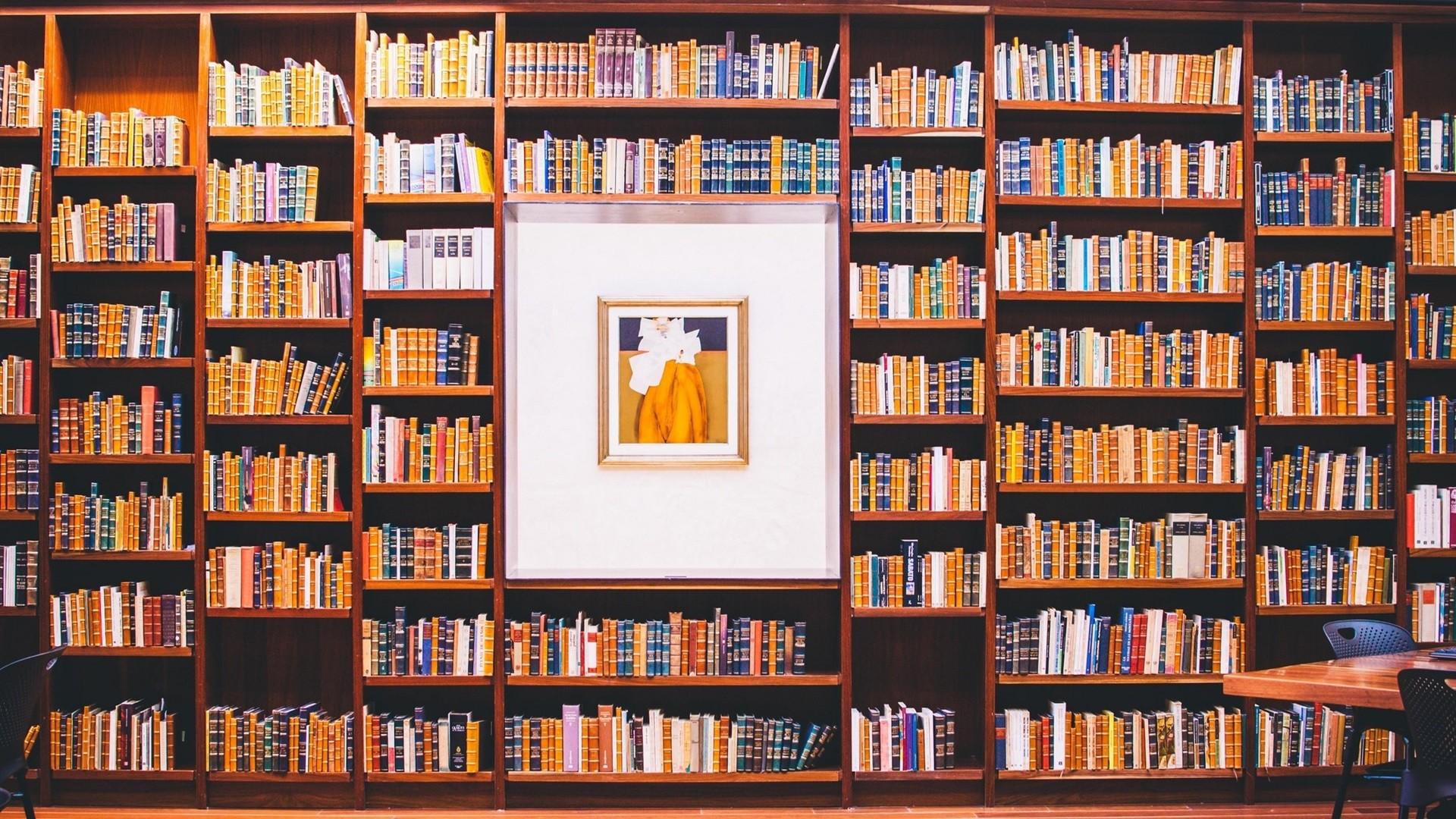 Books Desktop Wallpaper