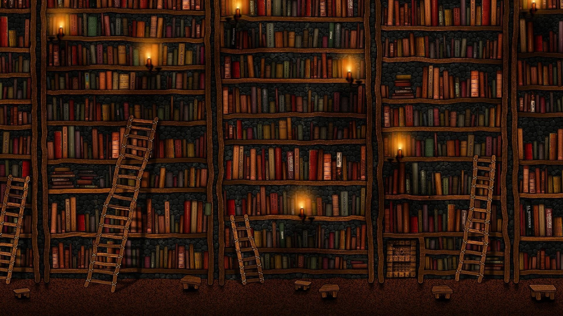 Books PC Wallpaper HD