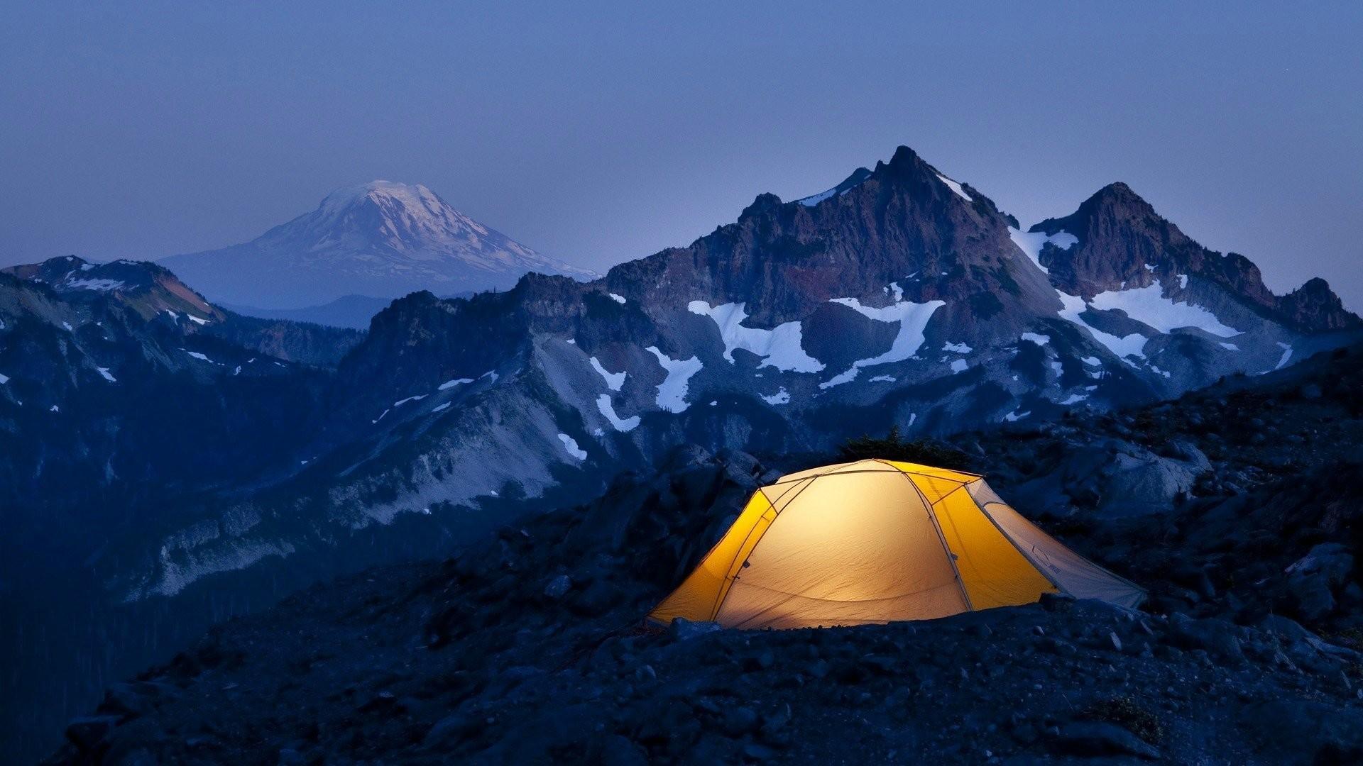 Camping Wallpaper theme