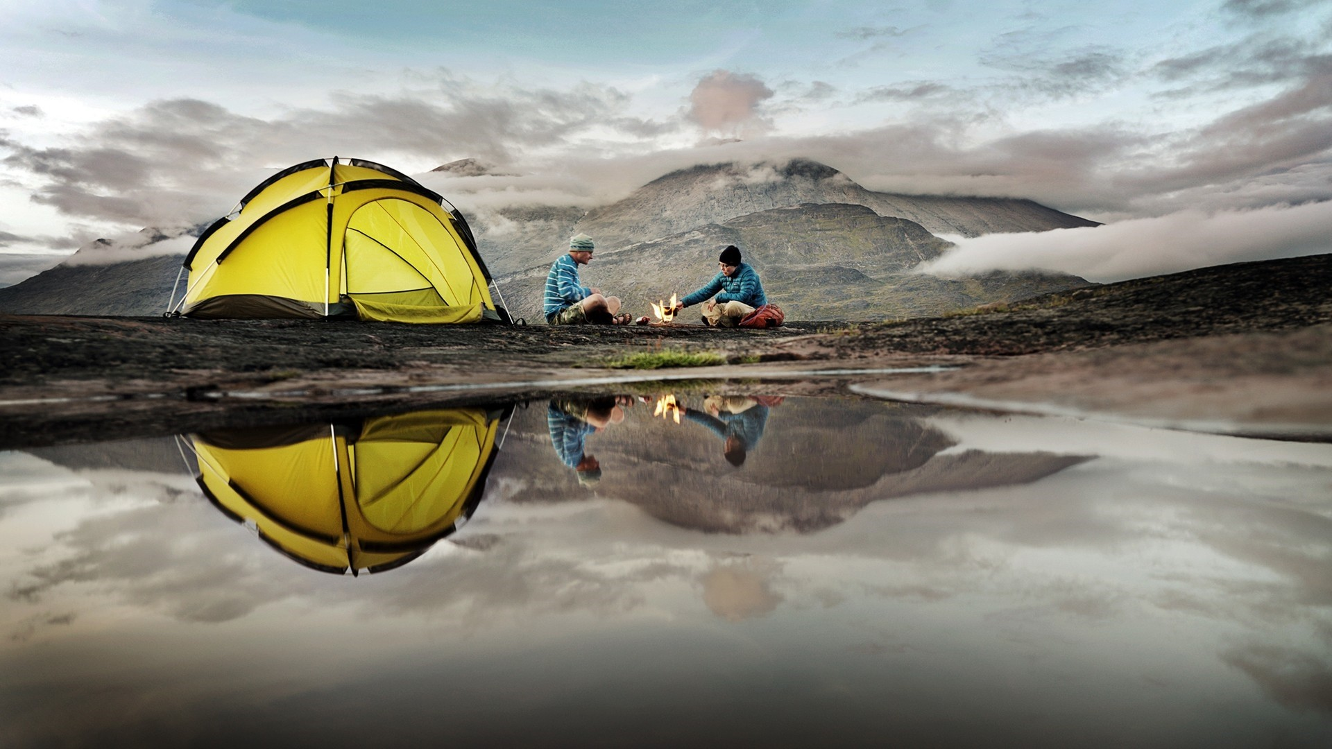 Camping Free Wallpaper and Background