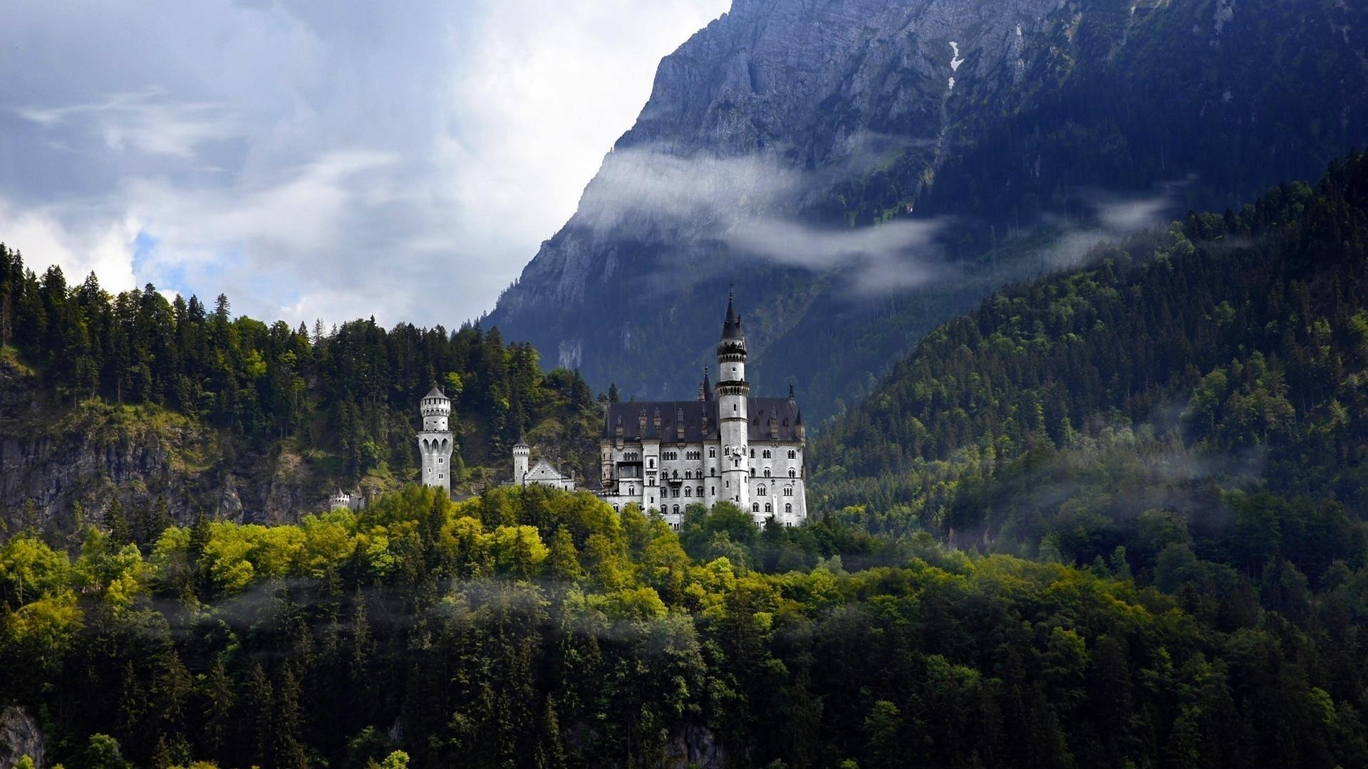 Castle Full HD Wallpaper