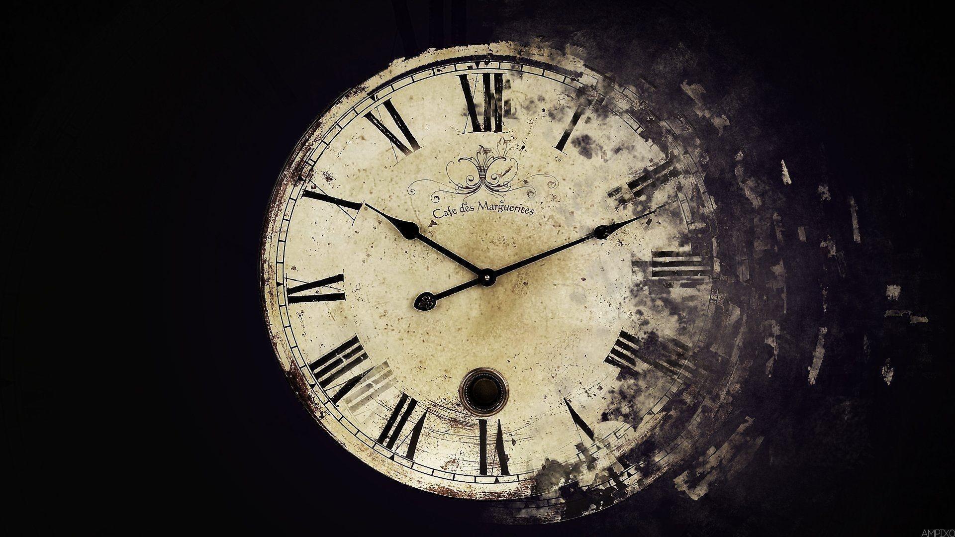 Clock Desktop Wallpaper