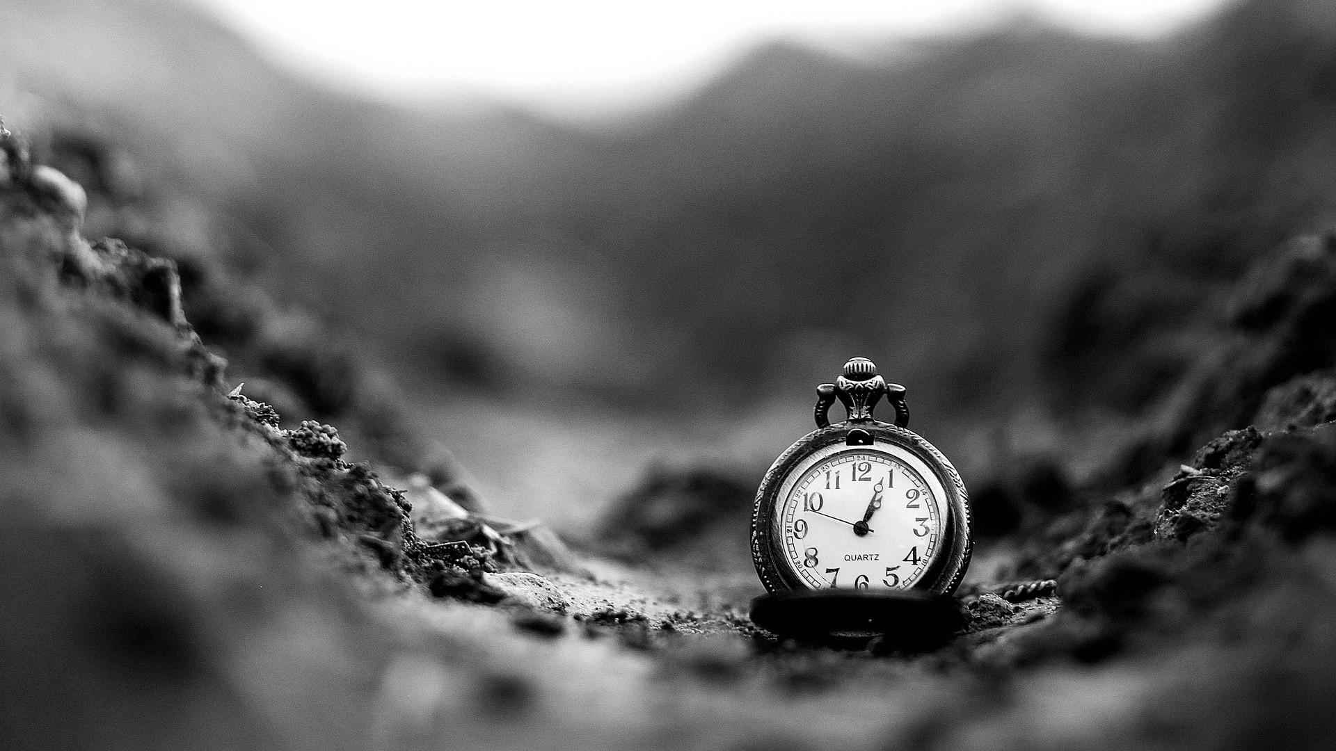 Clock a wallpaper