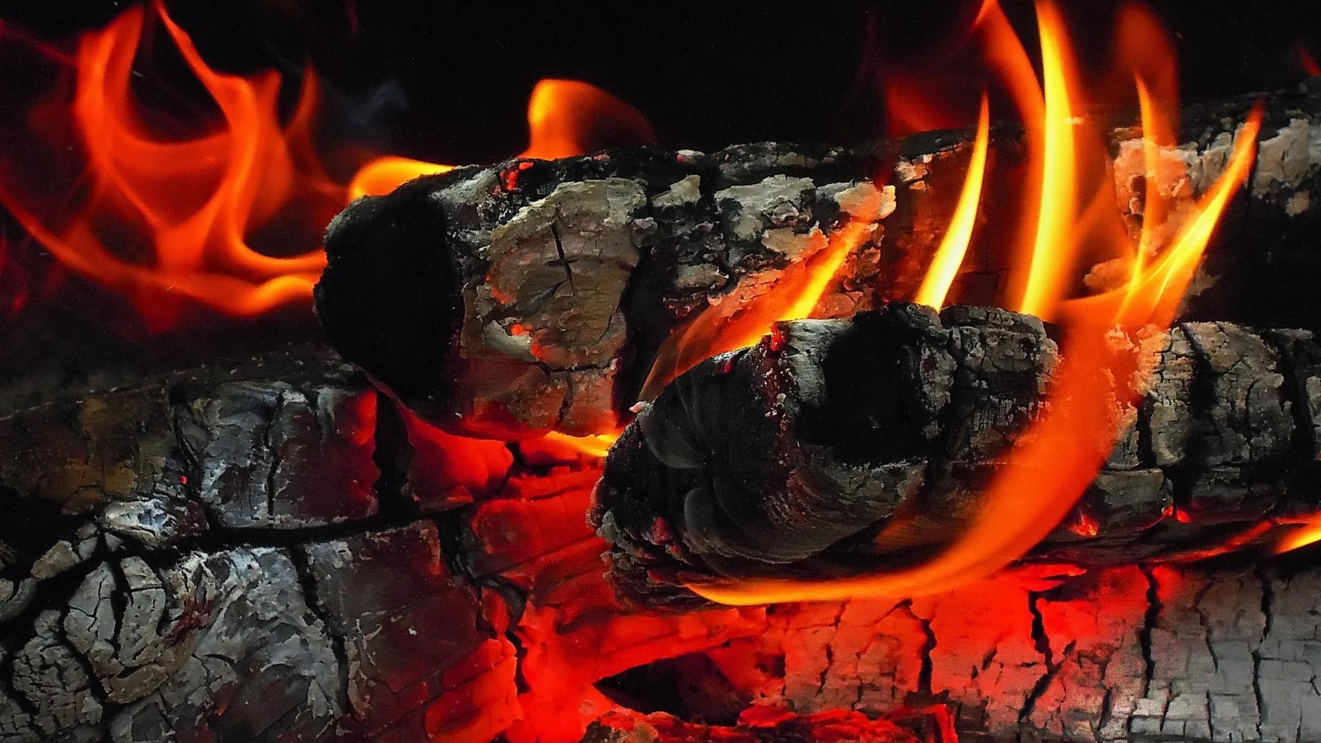 Flame a wallpaper