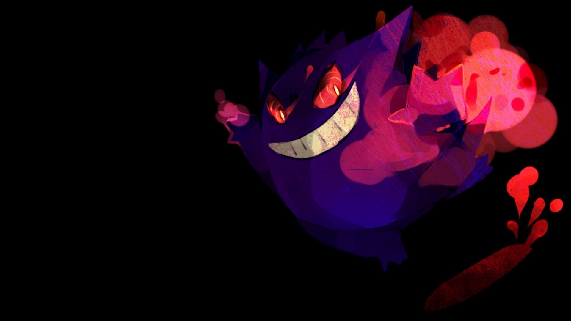 Gengar Wallpaper theme