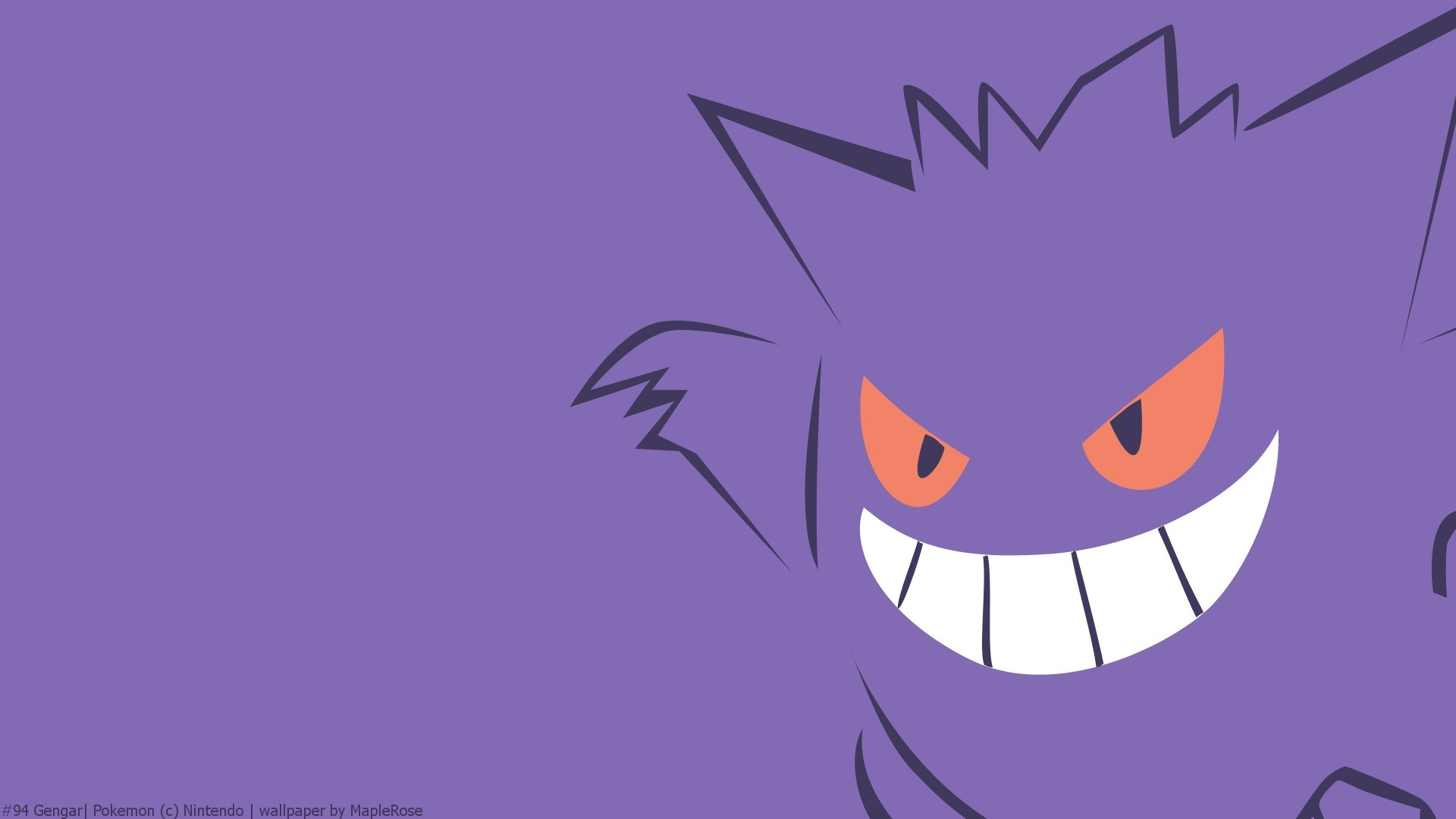 Gengar PC Wallpaper
