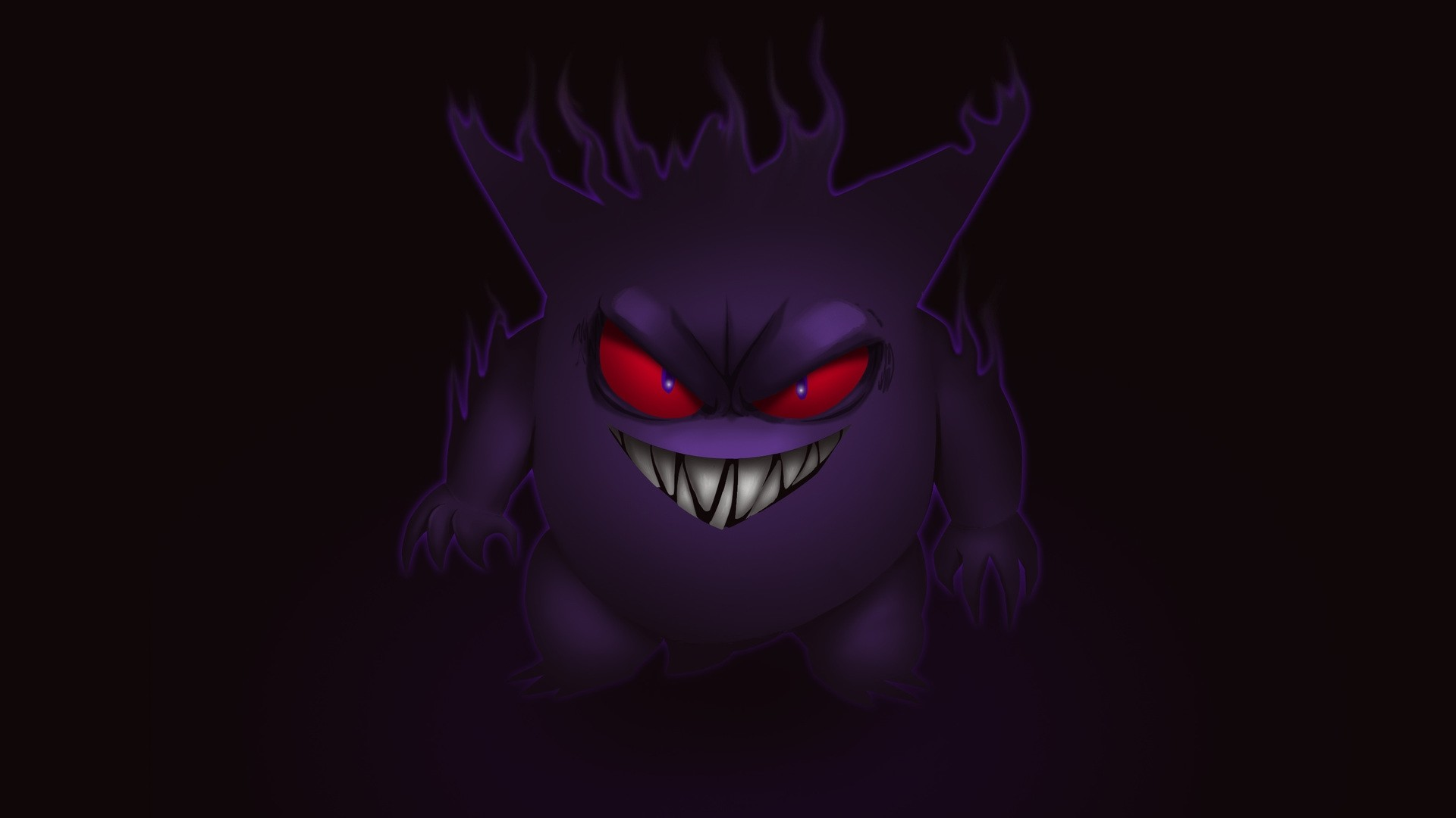 Gengar Free Wallpaper and Background