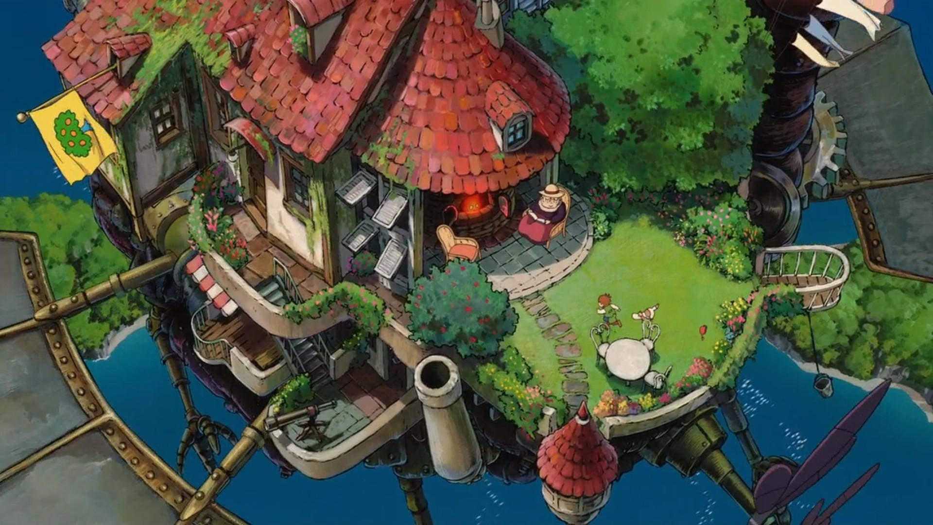 Ghibli Full HD Wallpaper
