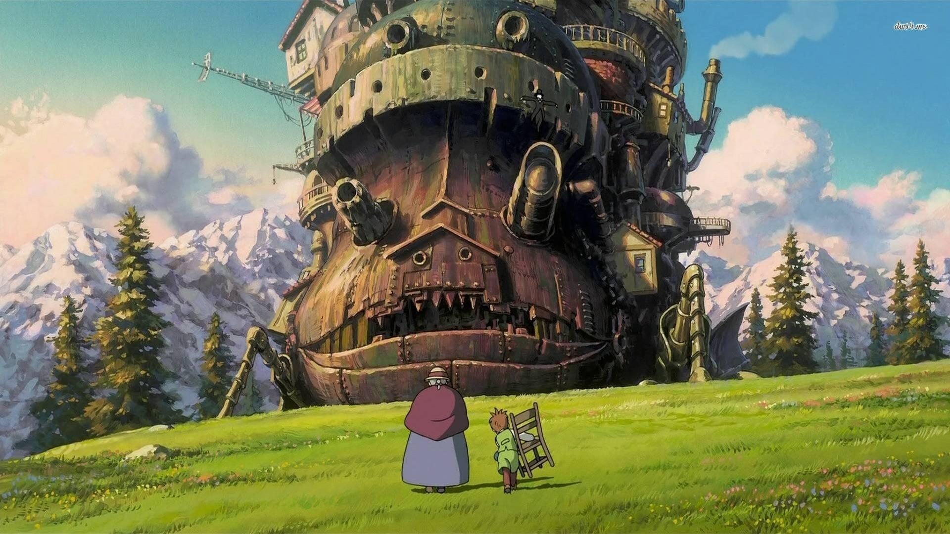 Ghibli wallpaper