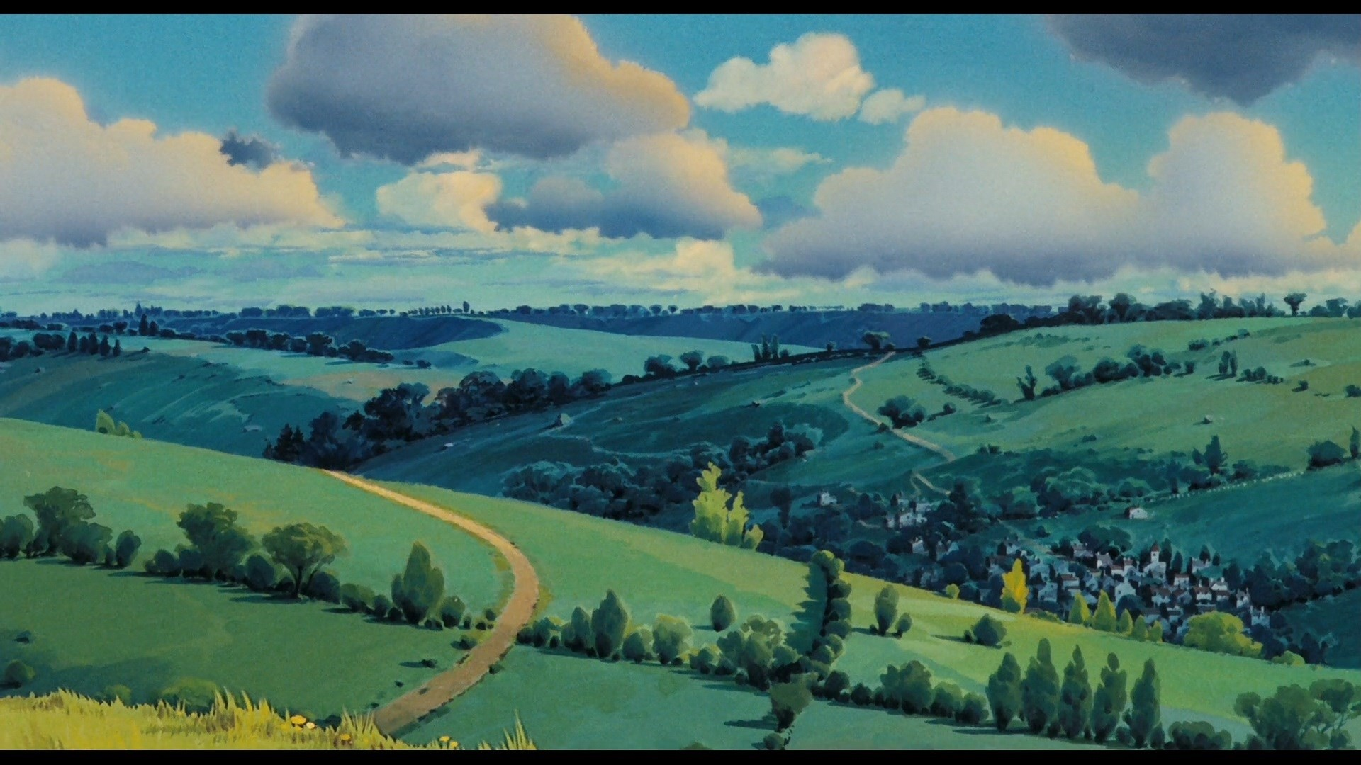 Ghibli hd desktop wallpaper