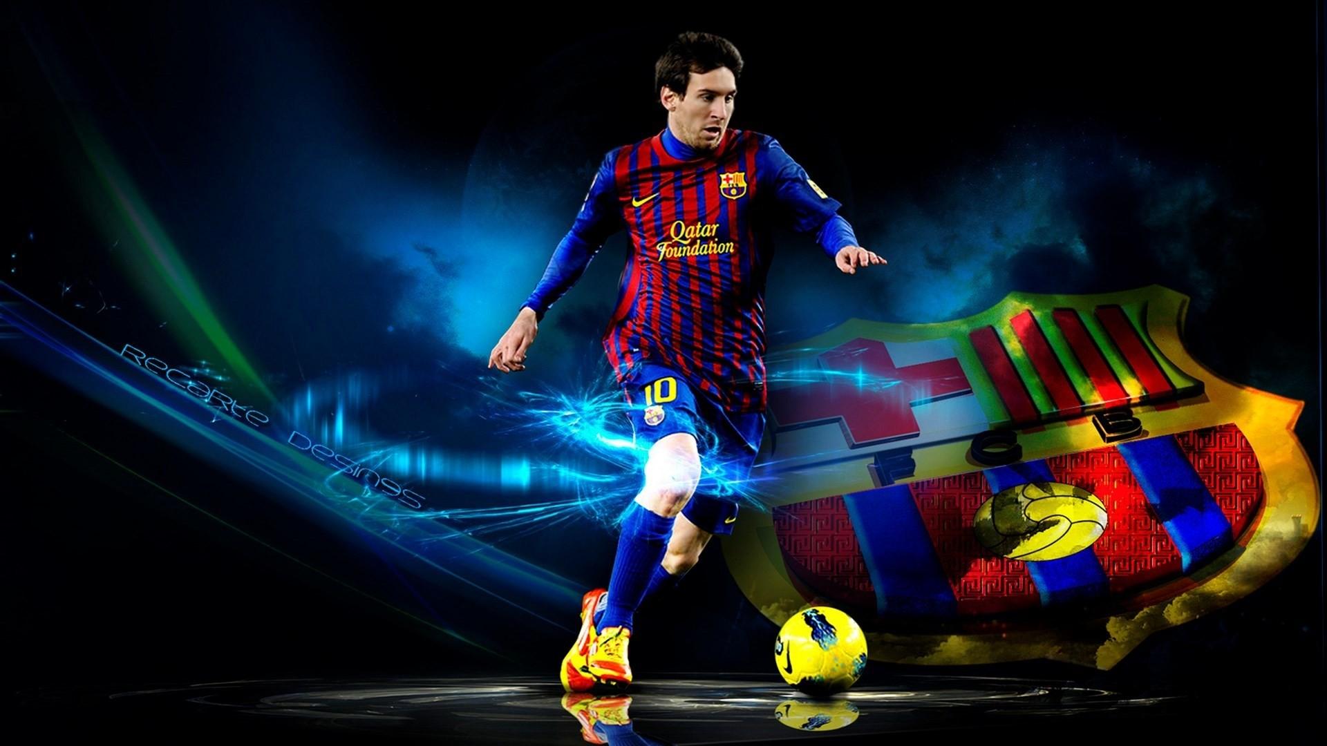 Lionel Messi a wallpaper