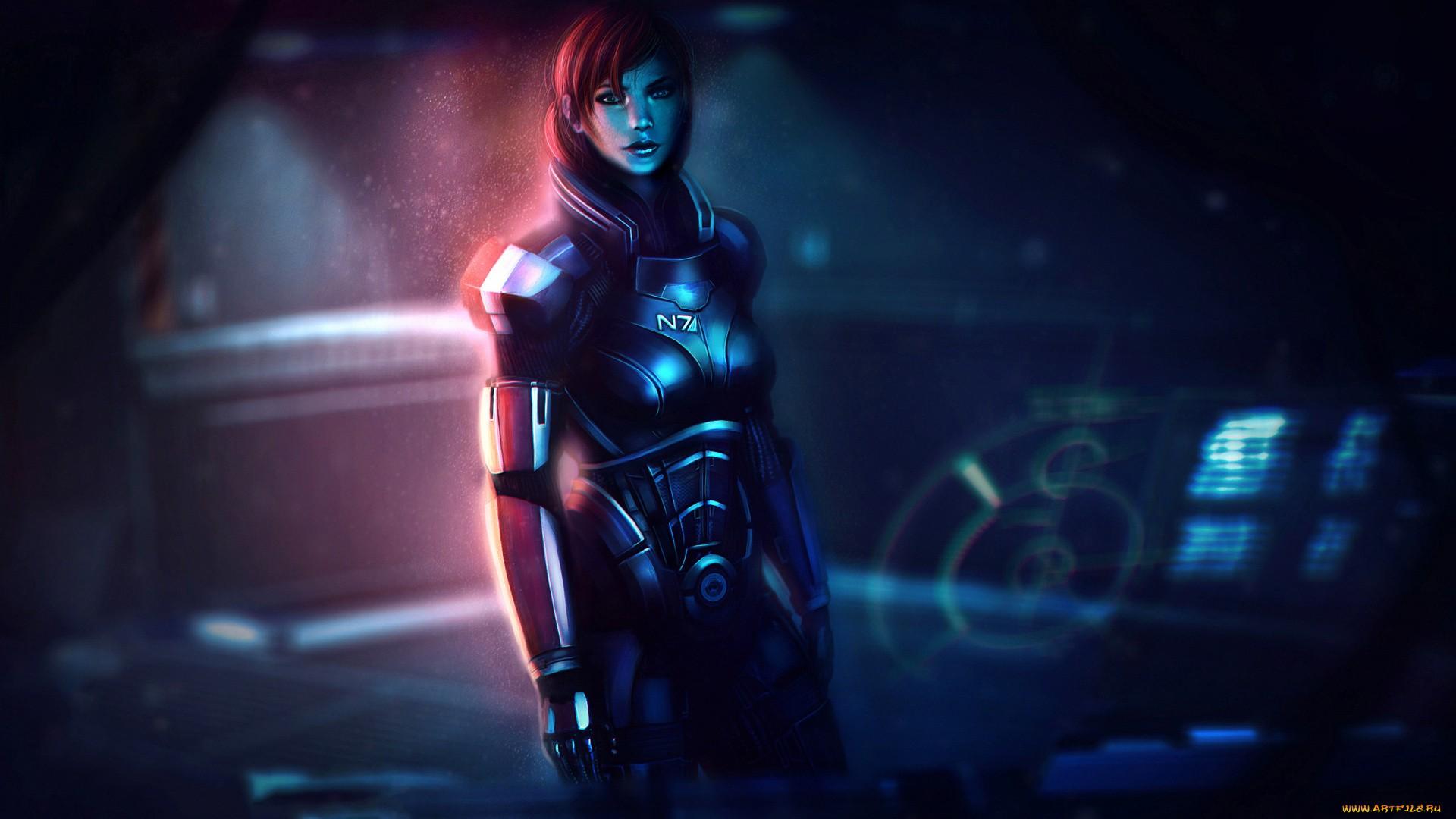 Mass Effect Free Wallpaper
