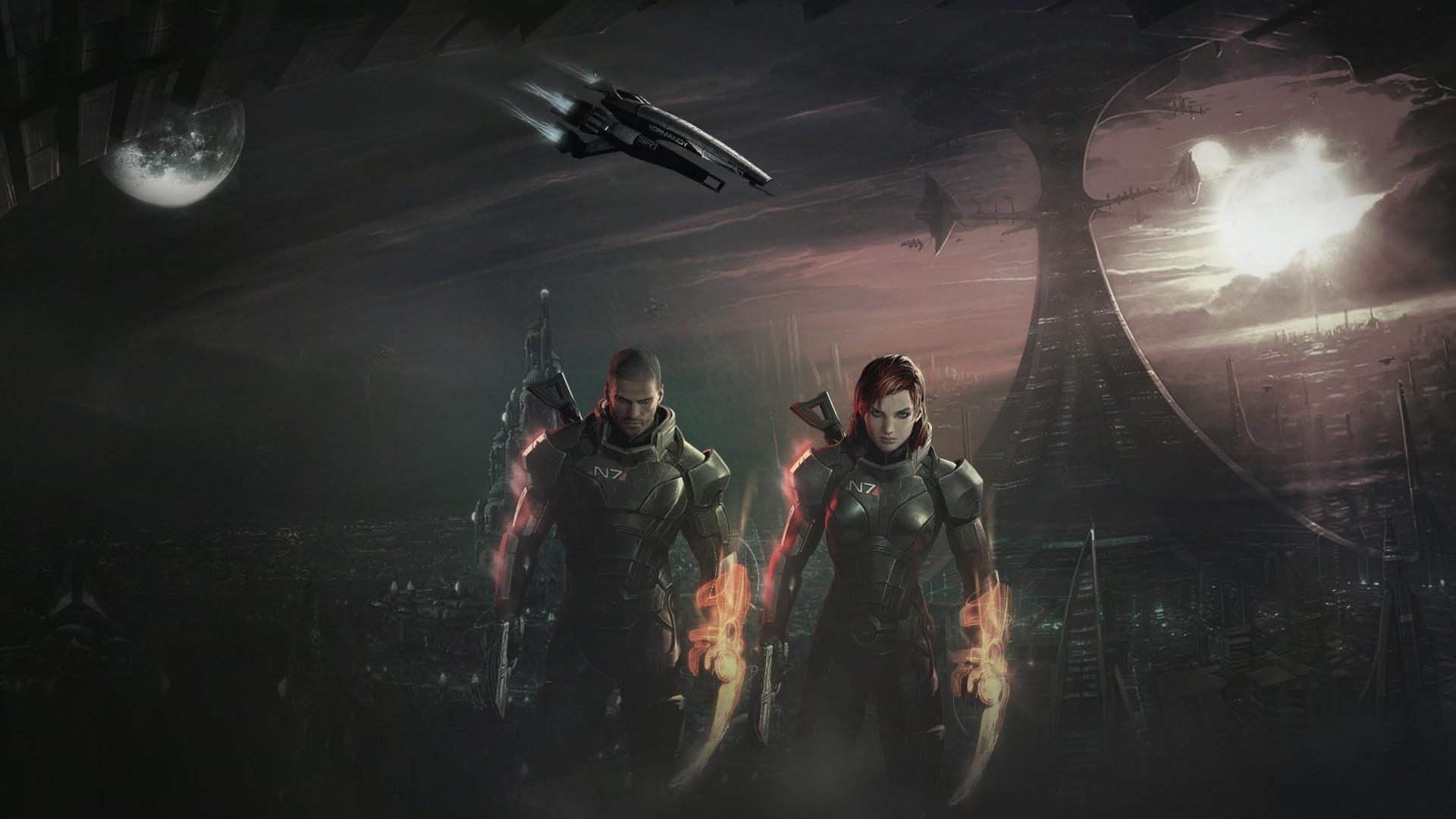 Mass Effect HD Wallpaper