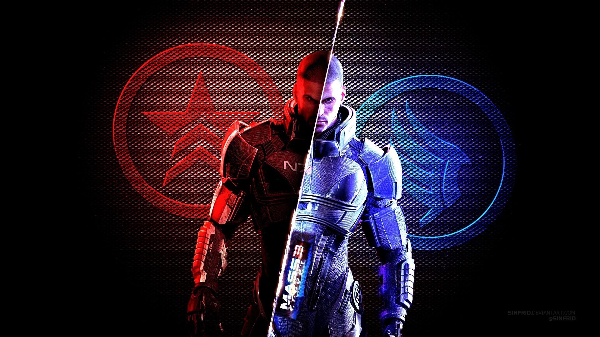 Mass Effect Background