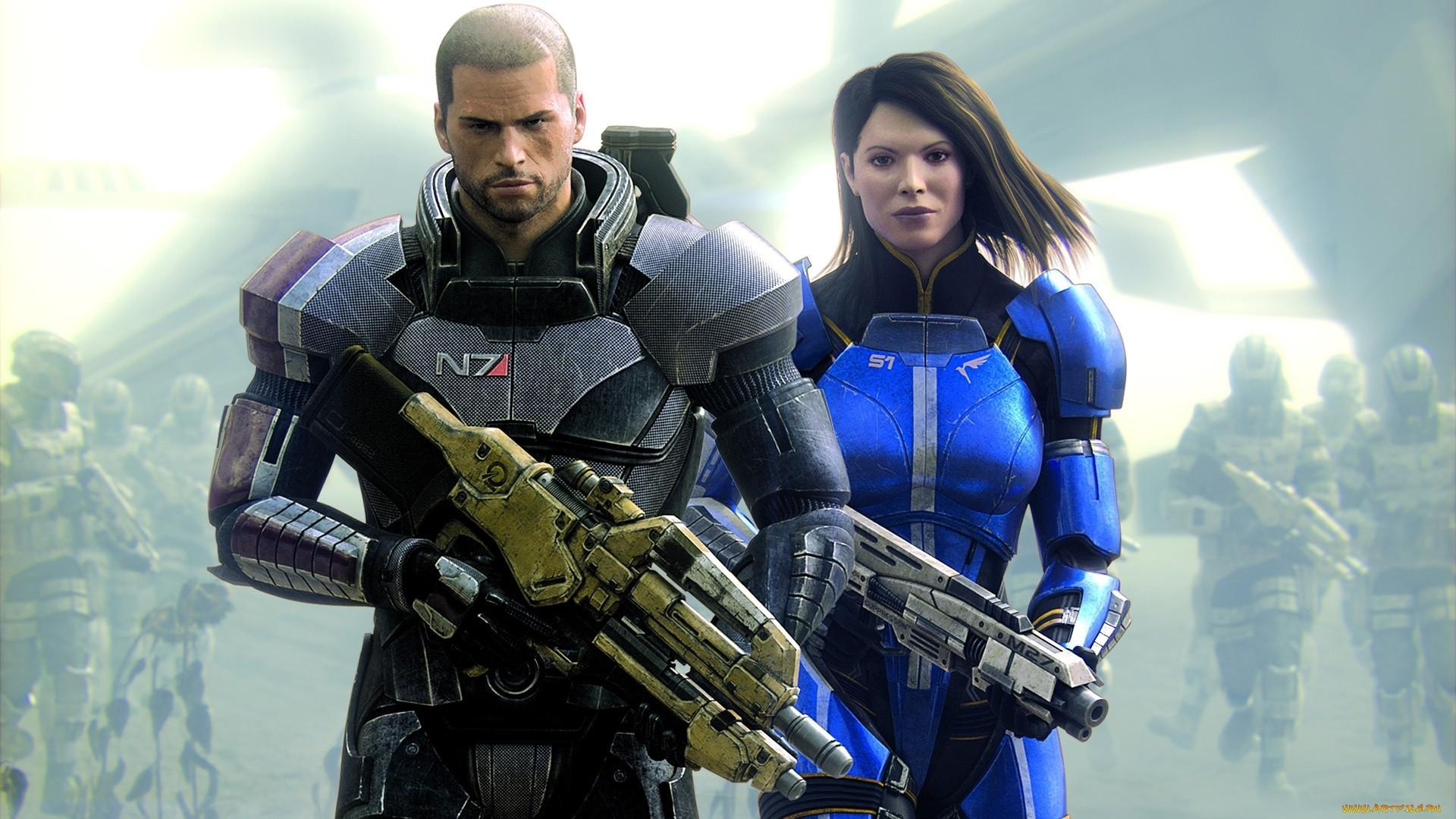 Mass Effect hd desktop wallpaper