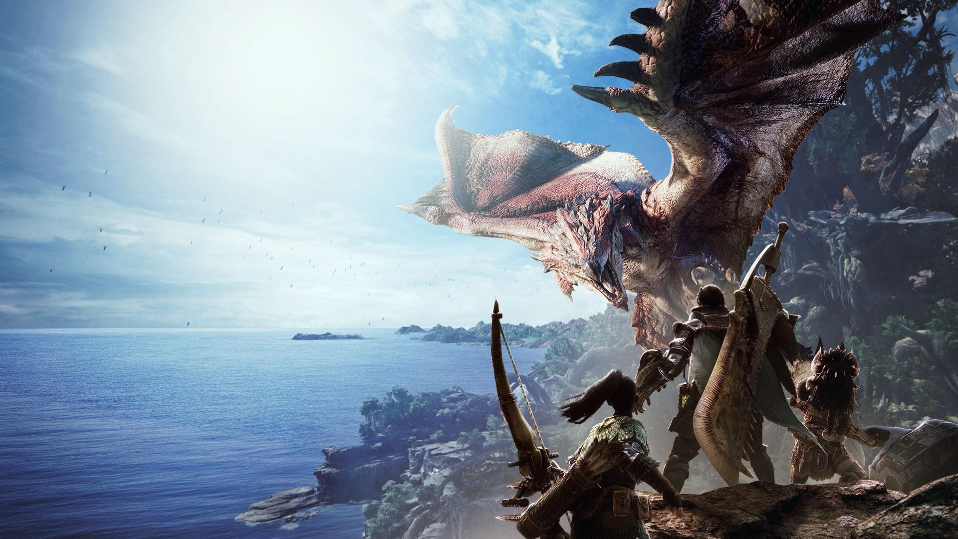 Monster Hunter World Background Wallpaper