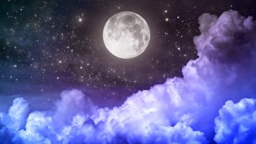 Moon And Stars Picture