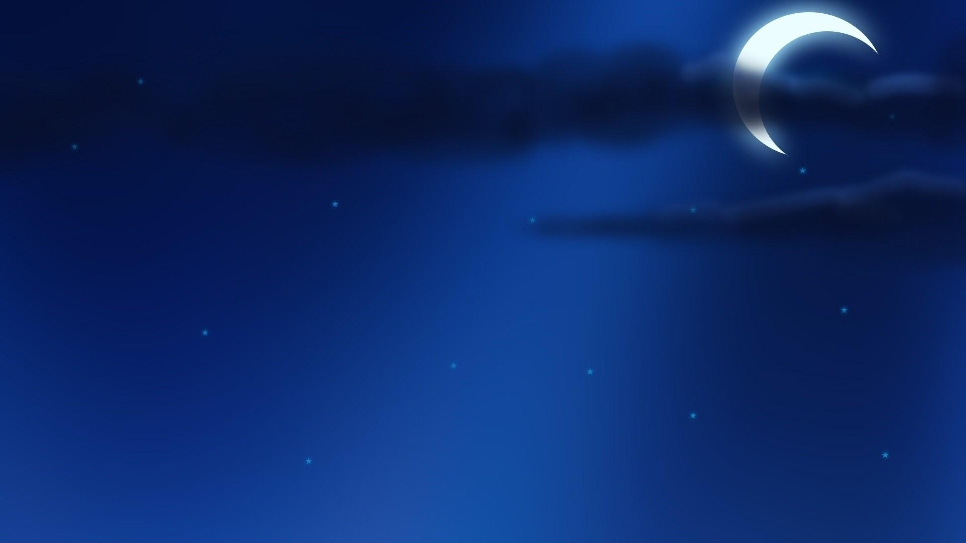 Moon And Stars computer wallpaper
