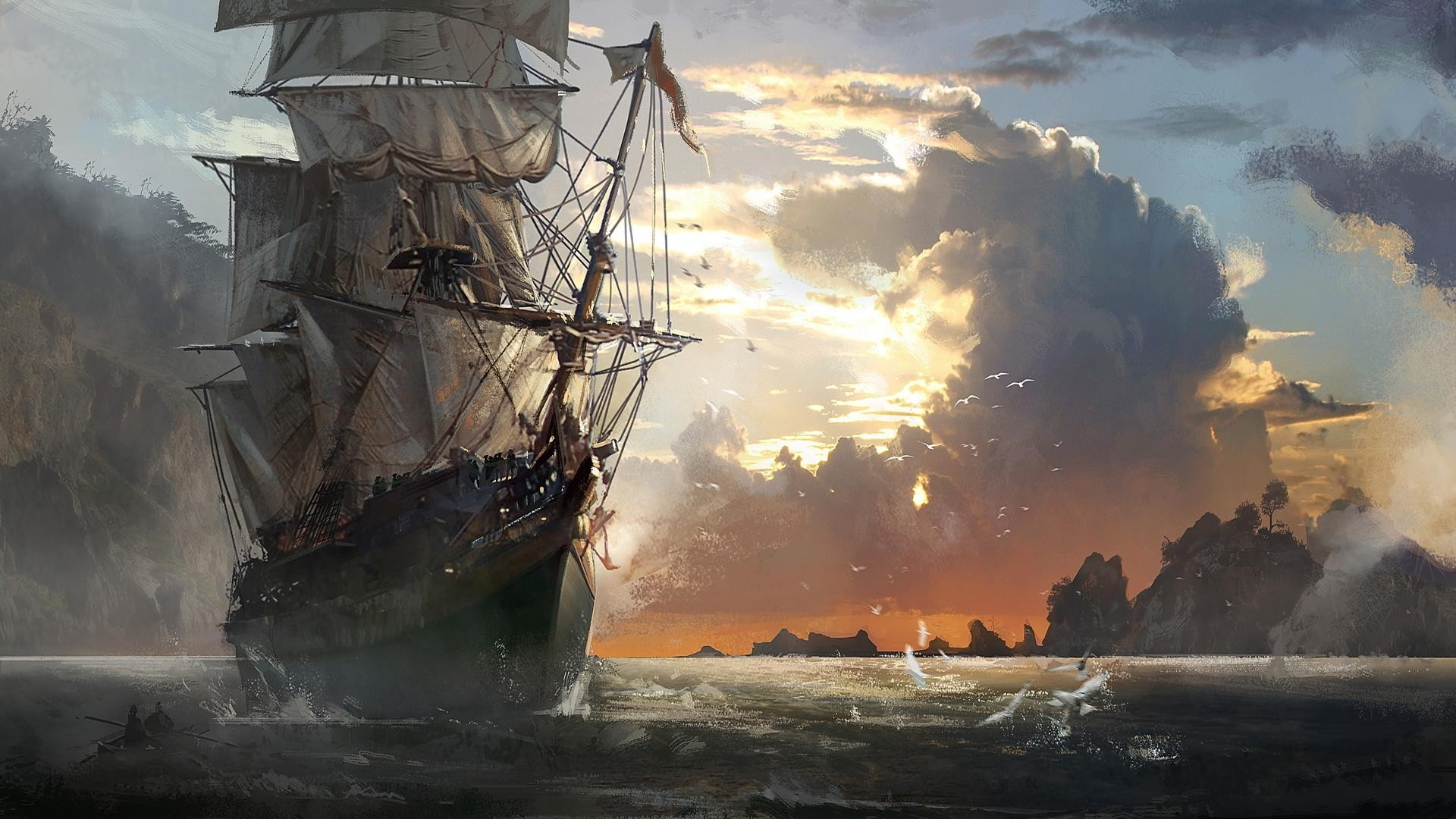Pirate Desktop Wallpaper