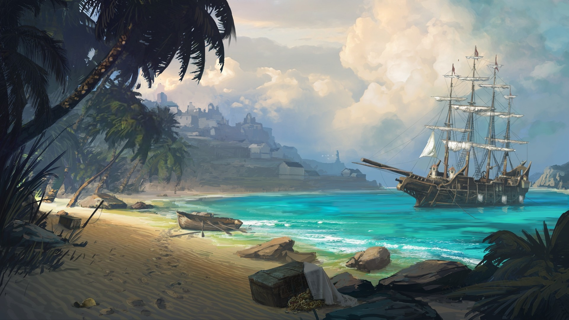 Pirate Wallpaper theme